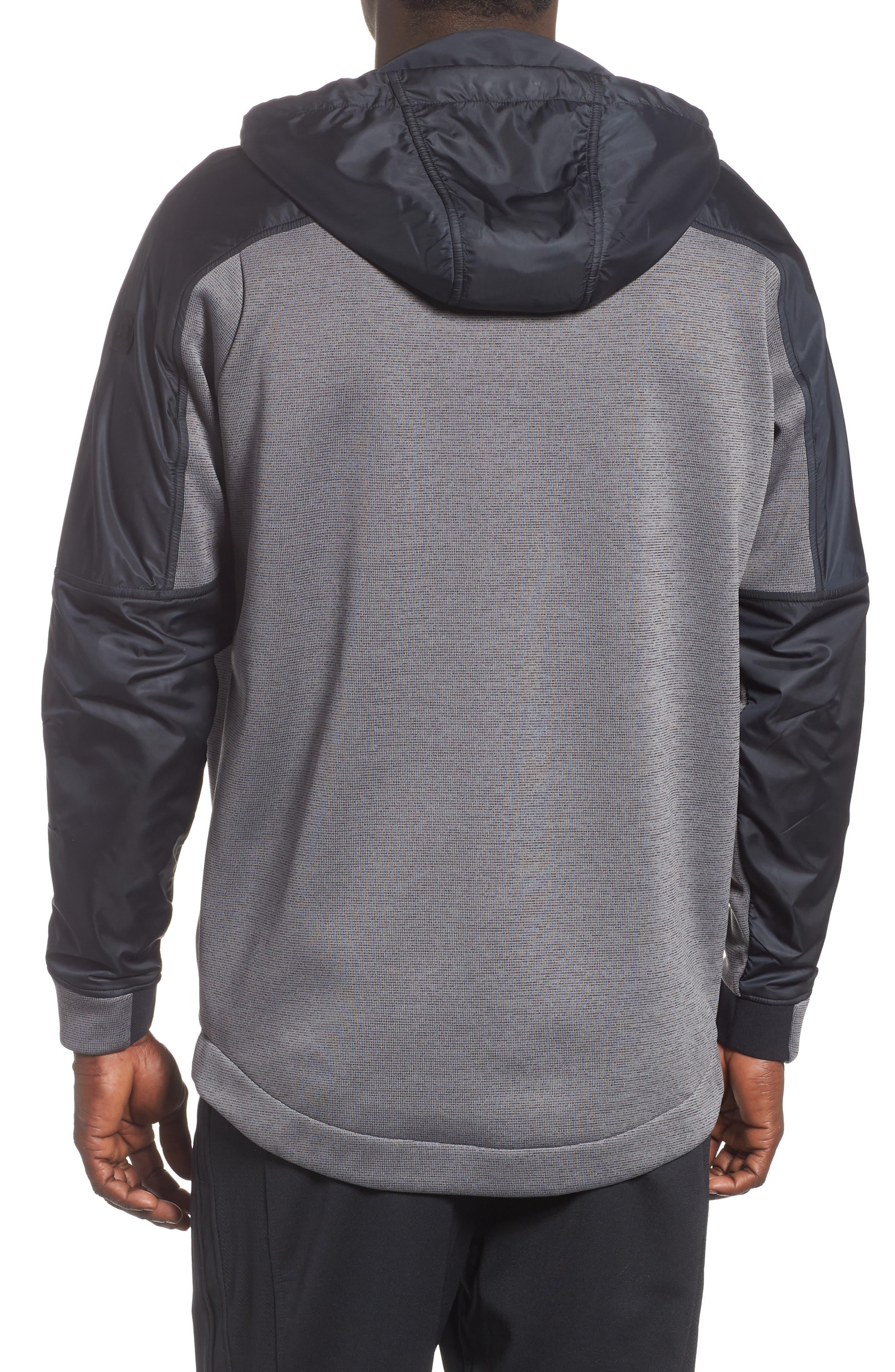 Unstoppable ColdGear<sup>®</sup> Jacket,                             Alternate thumbnail 2, color,                             CHARCOAL/ BLACK