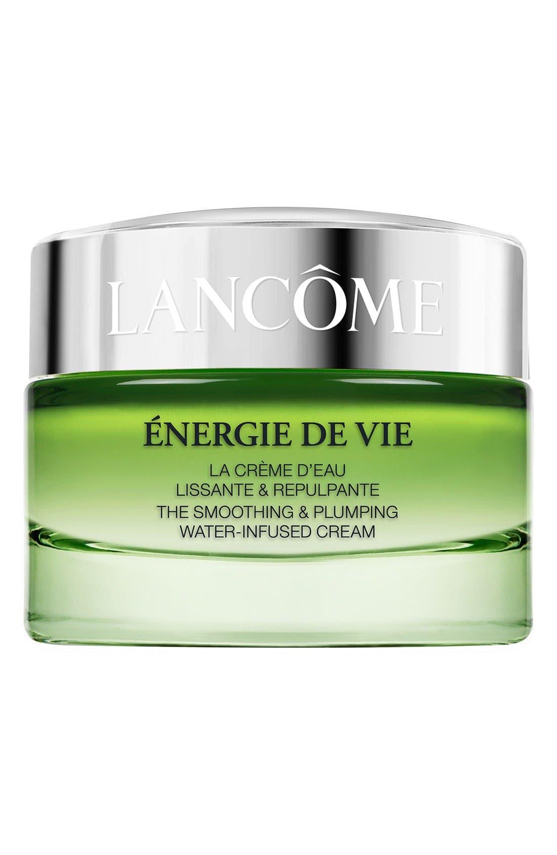LANCÔME,                             Énergie De Vie Water-Infused Moisturizing Cream,                             Main thumbnail 1, color,                             NO COLOR