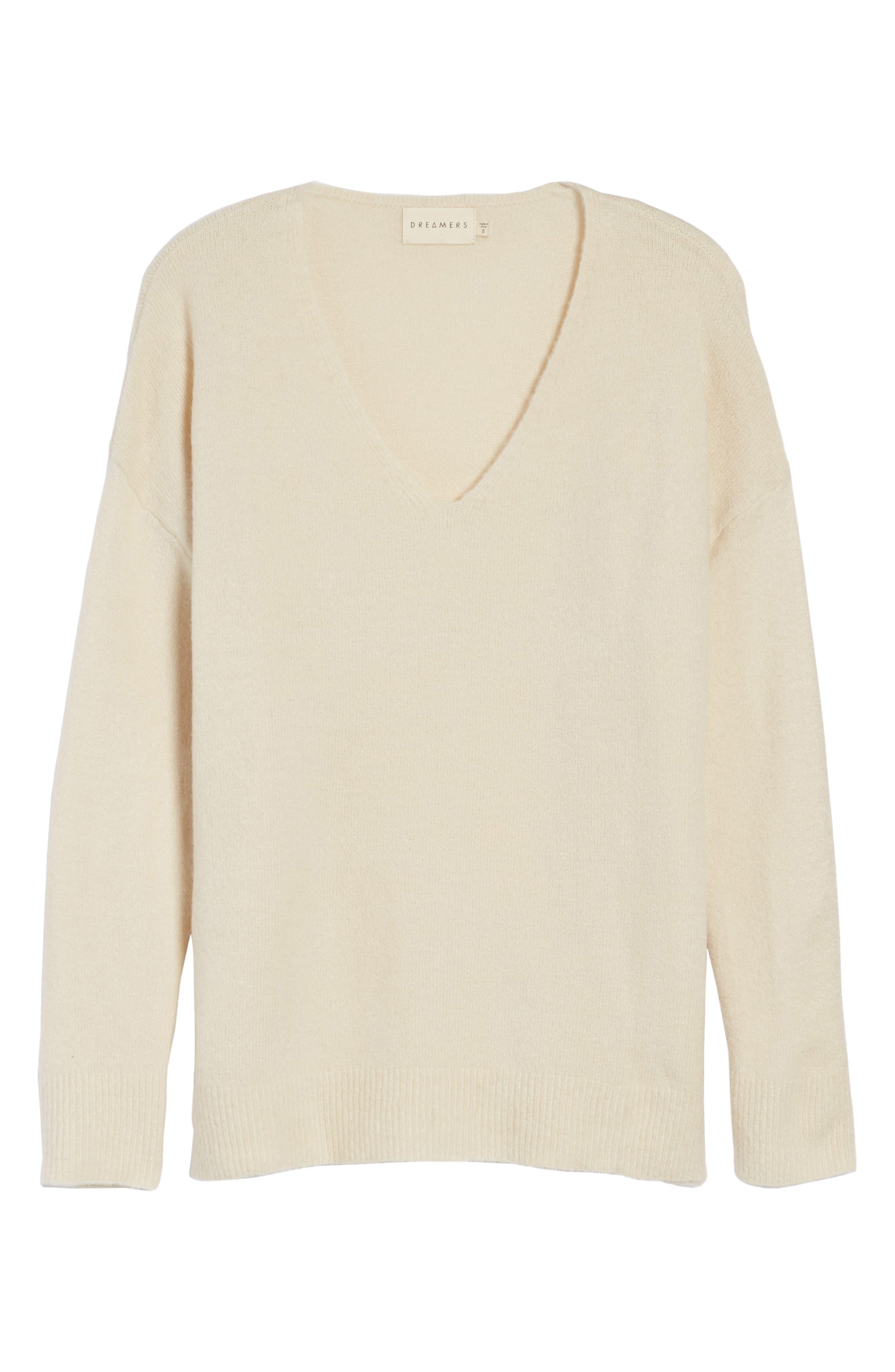 V-Neck Sweater,                             Alternate thumbnail 12, color,