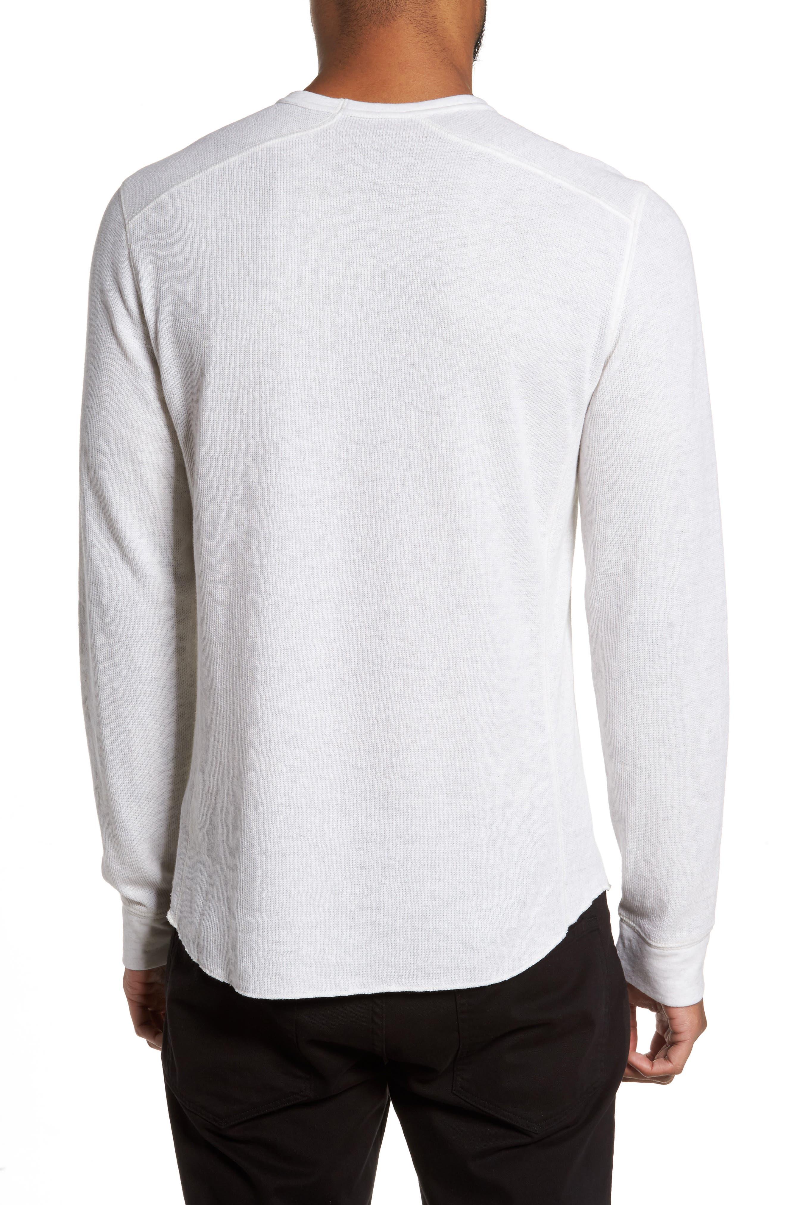 Double Knit Long Sleeve T-Shirt,                             Alternate thumbnail 8, color,