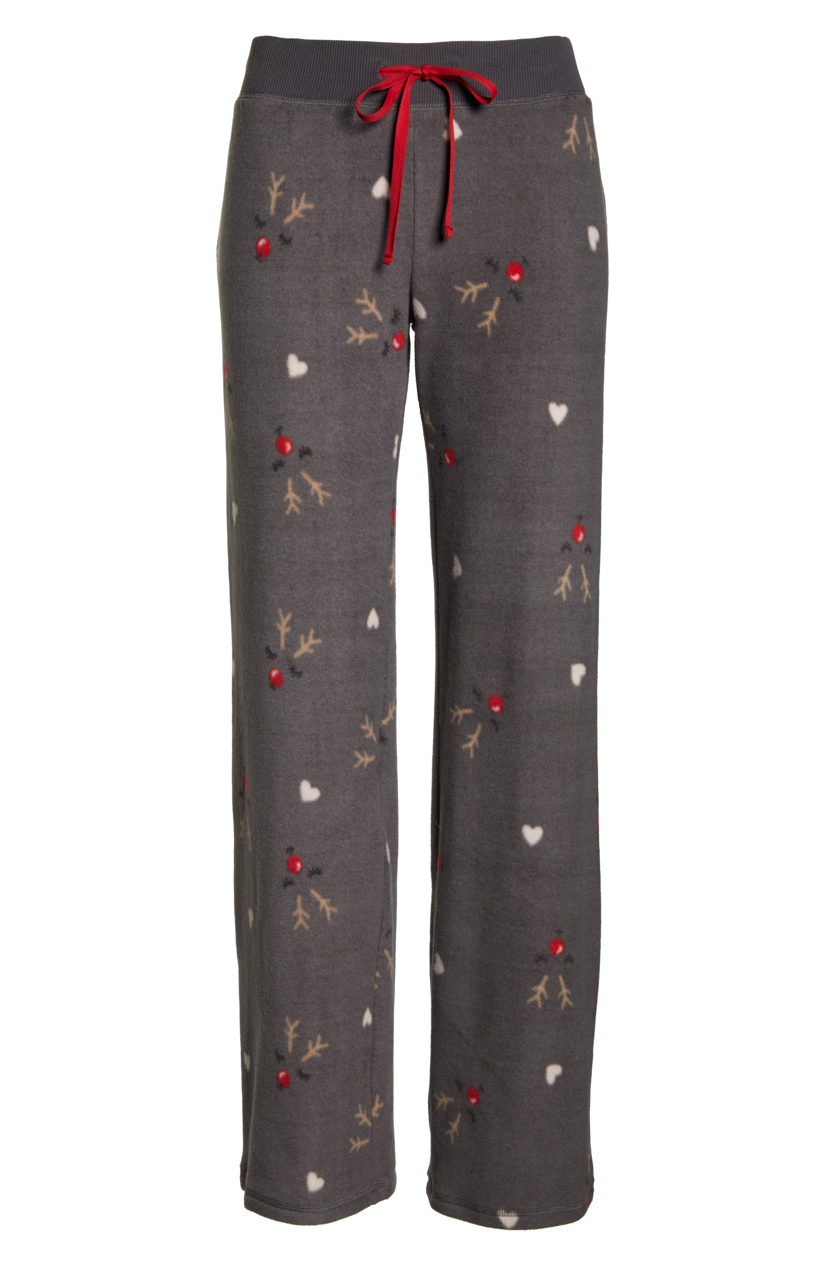 Fleece Pajama Pants,                             Alternate thumbnail 6, color,                             022