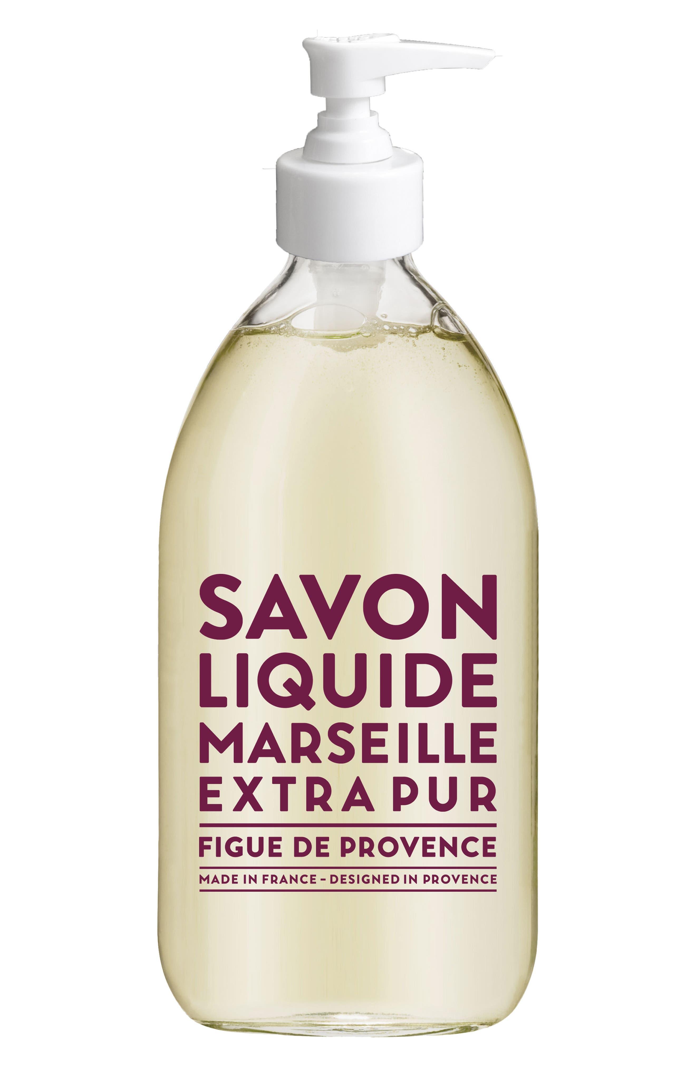 Fig of Provence Liquid Marseille Soap,                             Main thumbnail 1, color,                             000