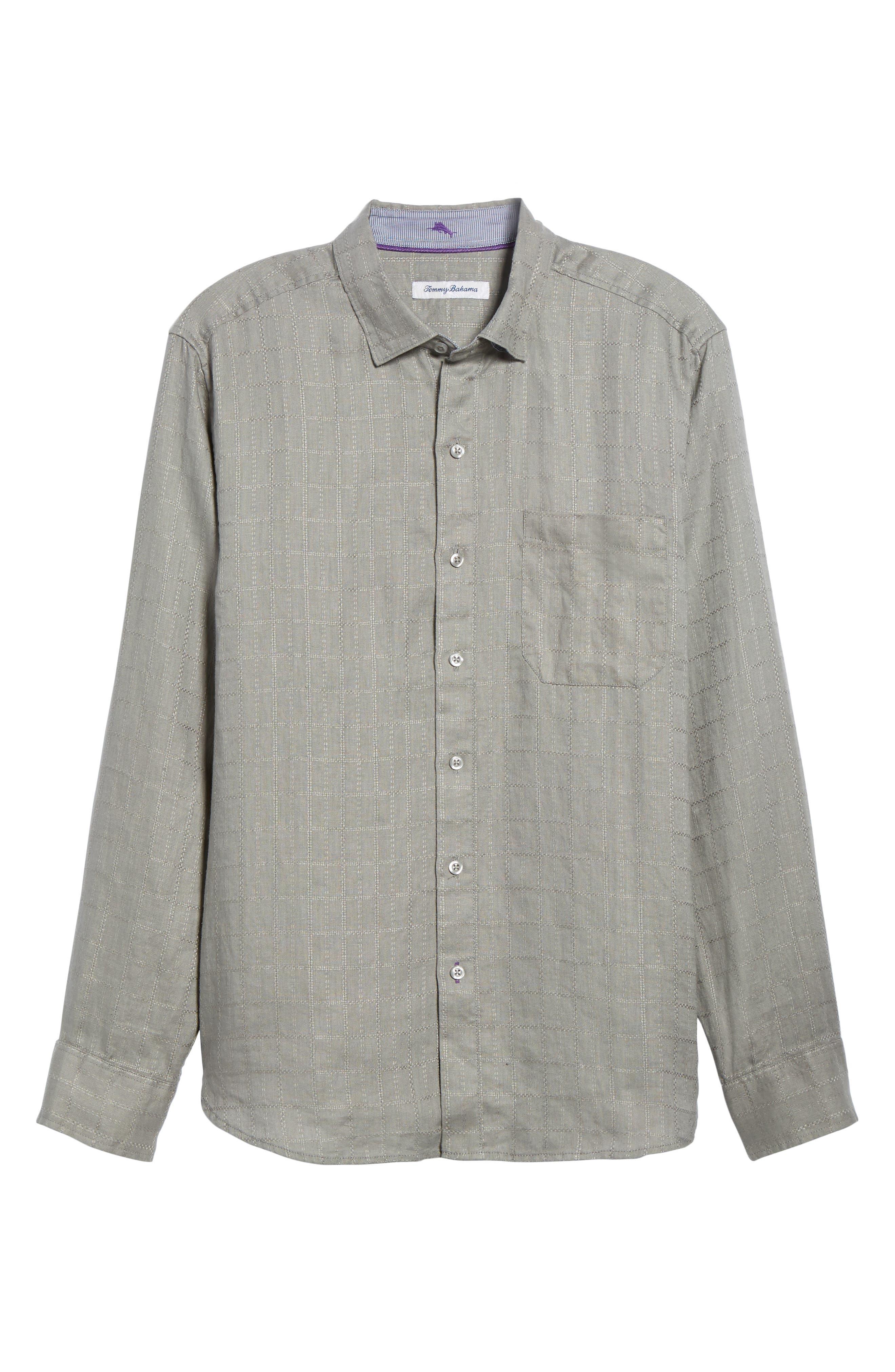 Costa Cera Linen Sport Shirt,                             Alternate thumbnail 6, color,                             050