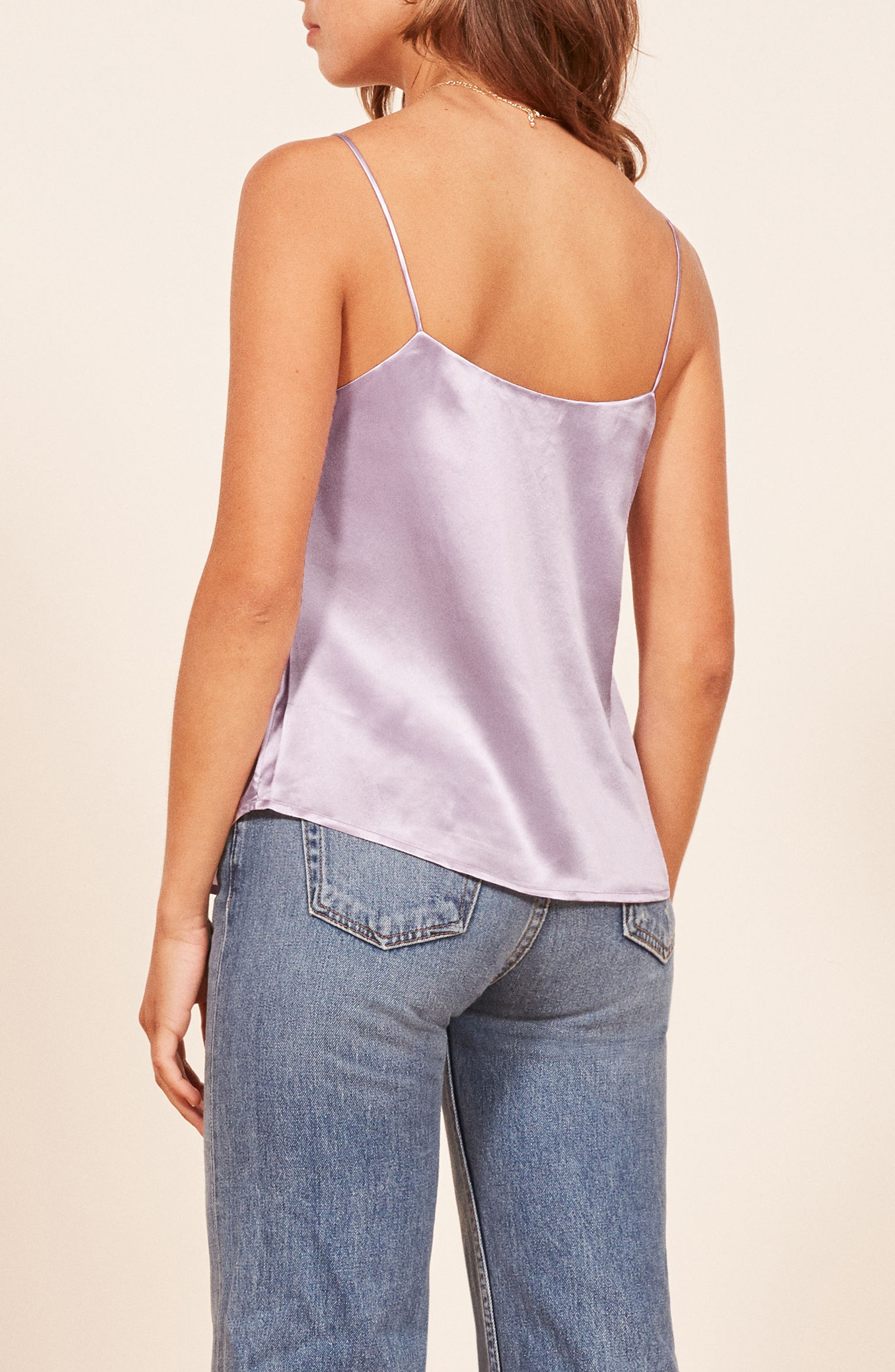 Gigi Silk Camisole,                             Alternate thumbnail 2, color,                             500