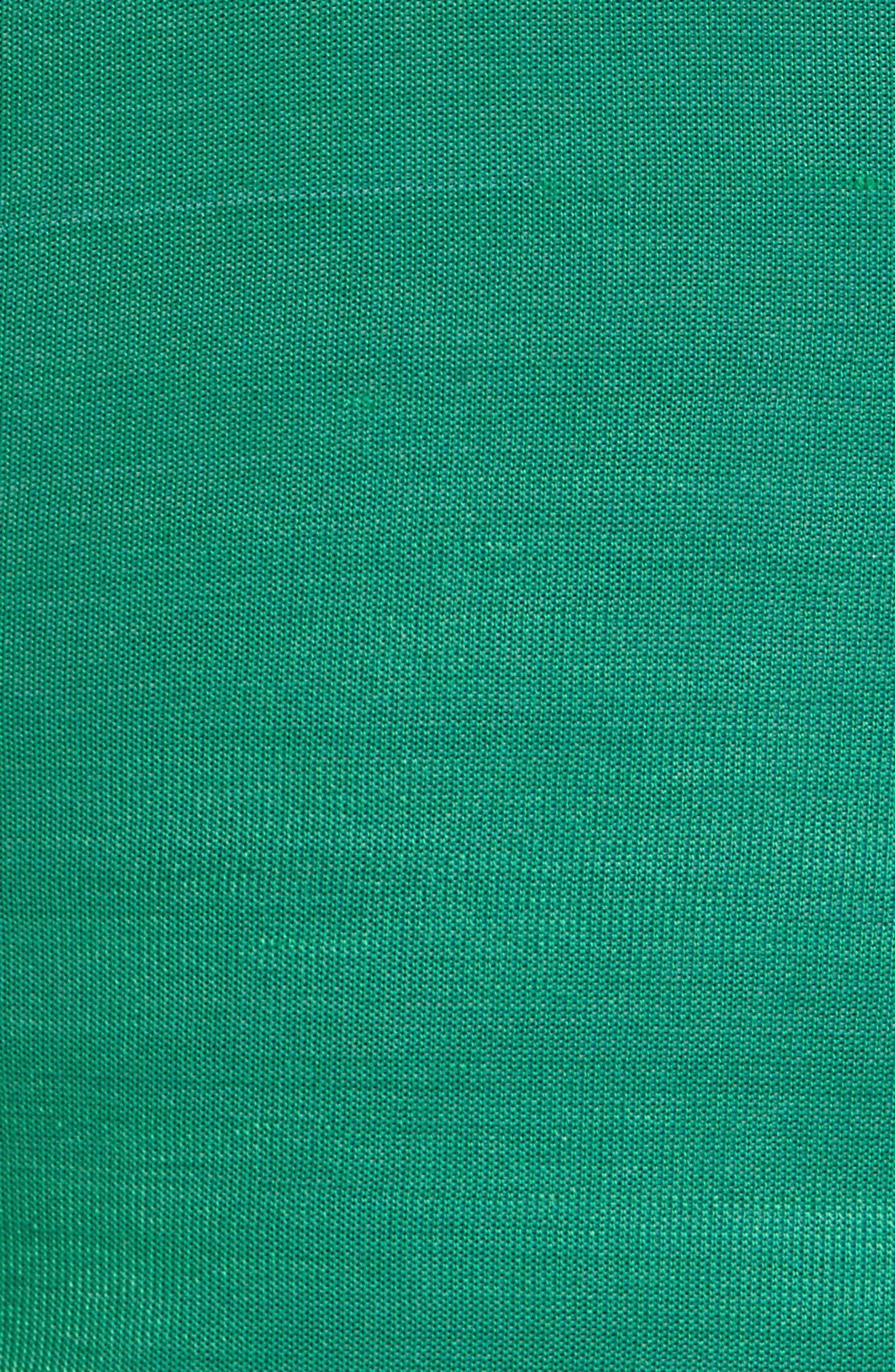 MARINE SERRE,                             Pleated Moiré Dress,                             Alternate thumbnail 4, color,                             460