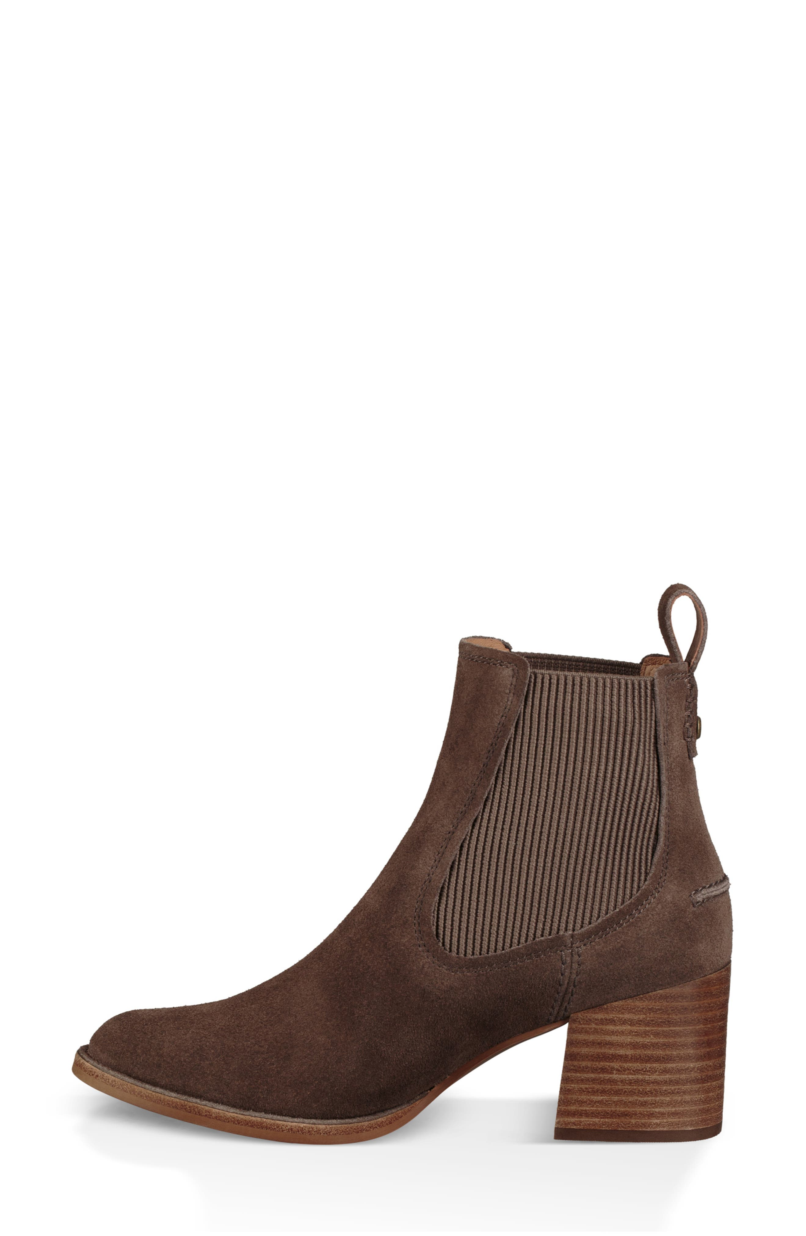 Faye Chelsea Bootie,                             Alternate thumbnail 6, color,                             MYSTERIOUS SUEDE