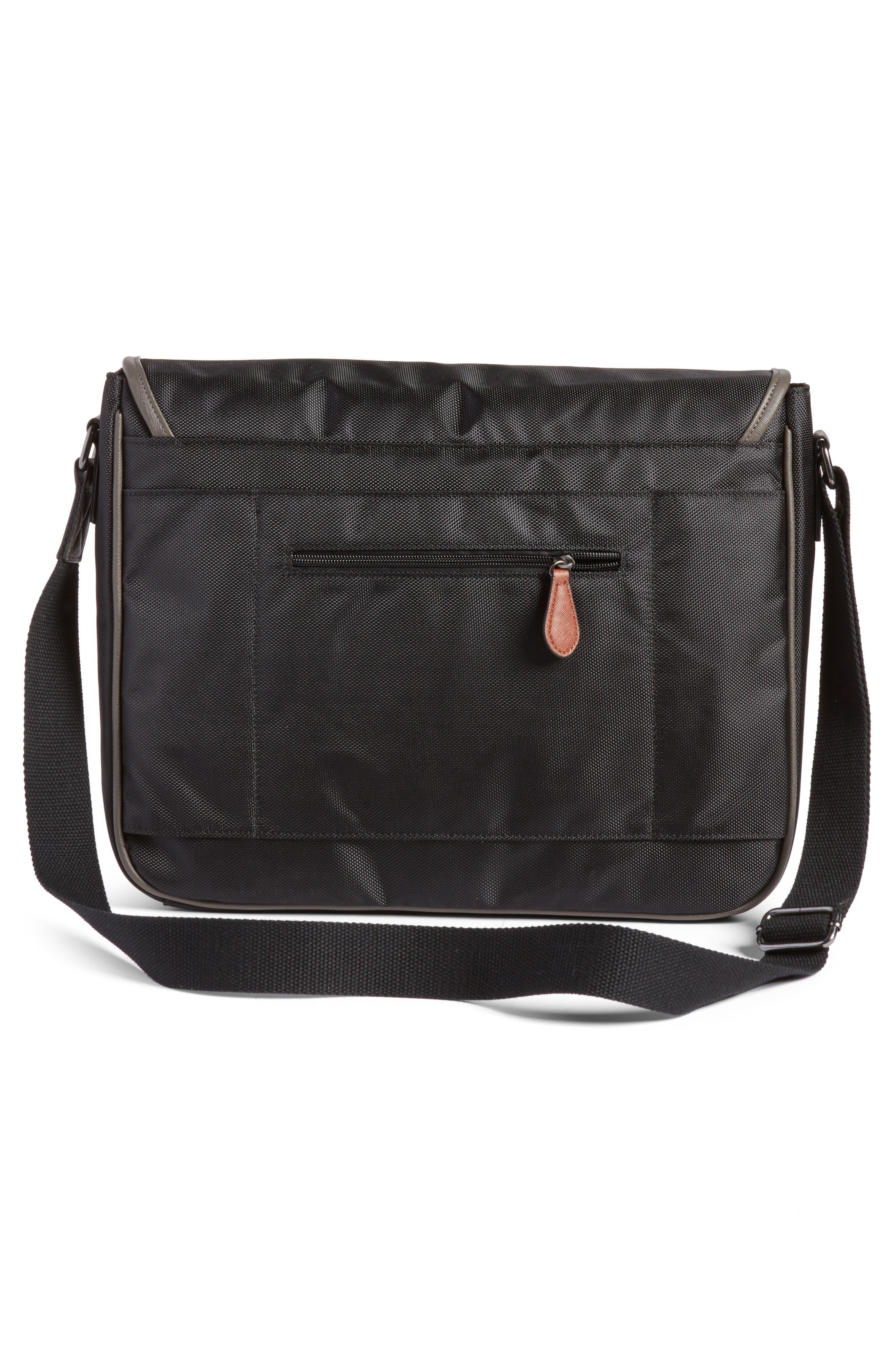 Wisker Messenger Bag,                             Alternate thumbnail 3, color,                             001