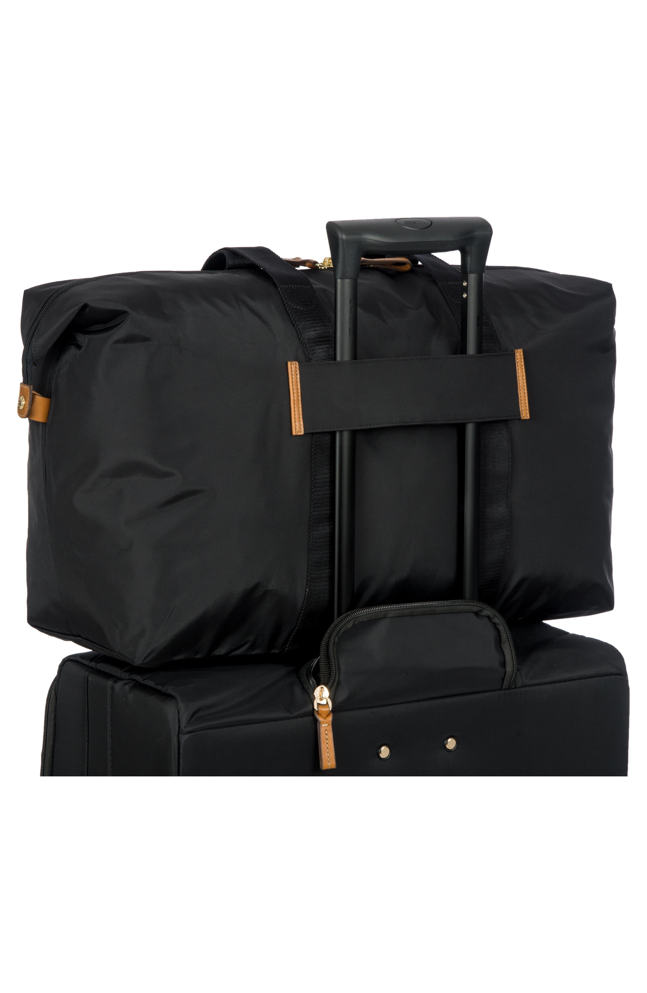 X-Bag 22-Inch Folding Duffel Bag,                             Alternate thumbnail 2, color,                             BLACK