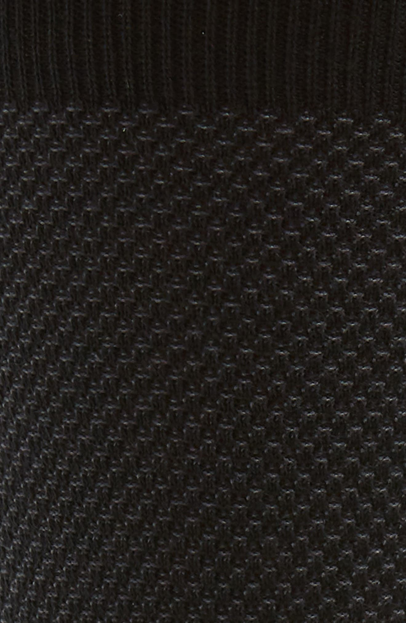 Waffle Texture Socks,                             Alternate thumbnail 2, color,                             001