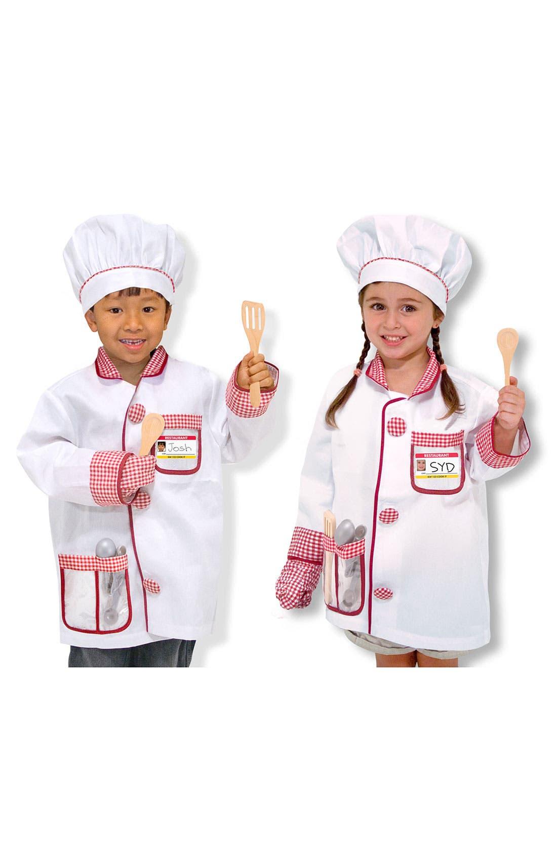 Toddler Melissa  Doug Chef Costume