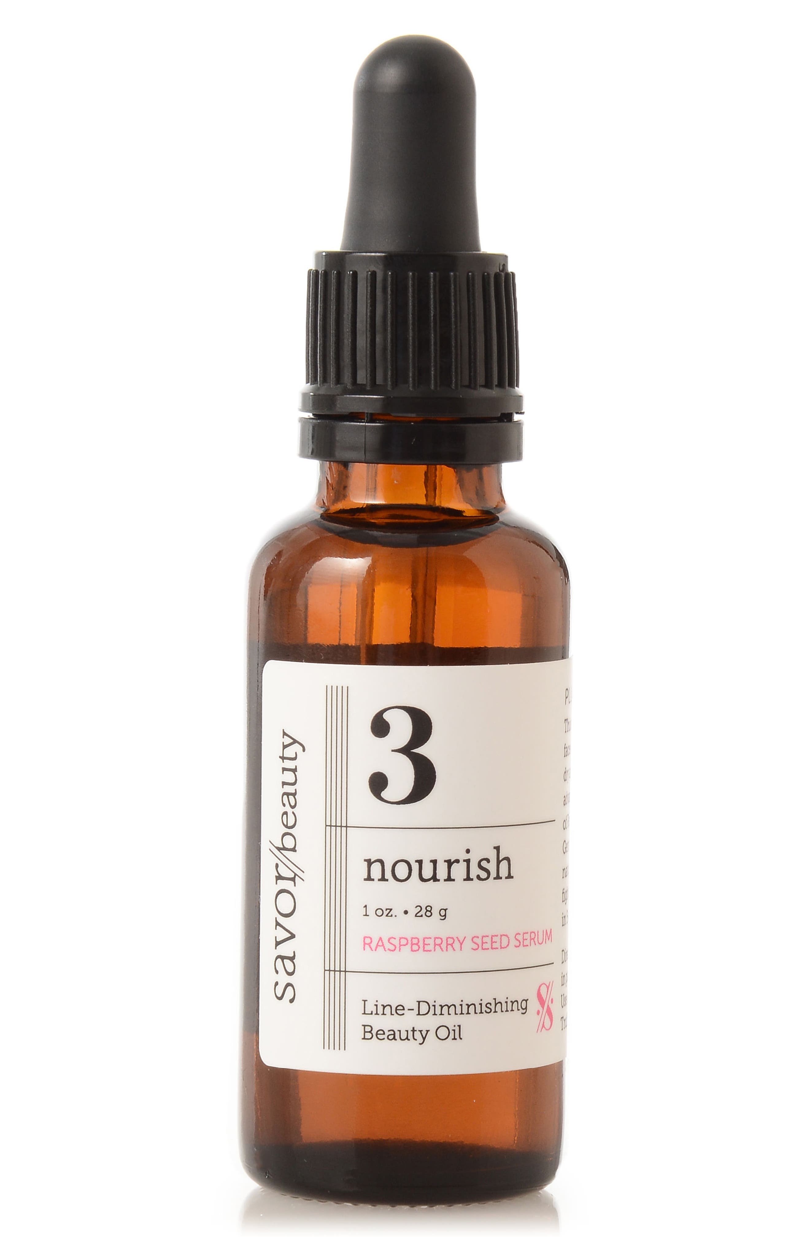 Nourish Raspberry Seed Serum,                             Main thumbnail 1, color,                             NO COLOR