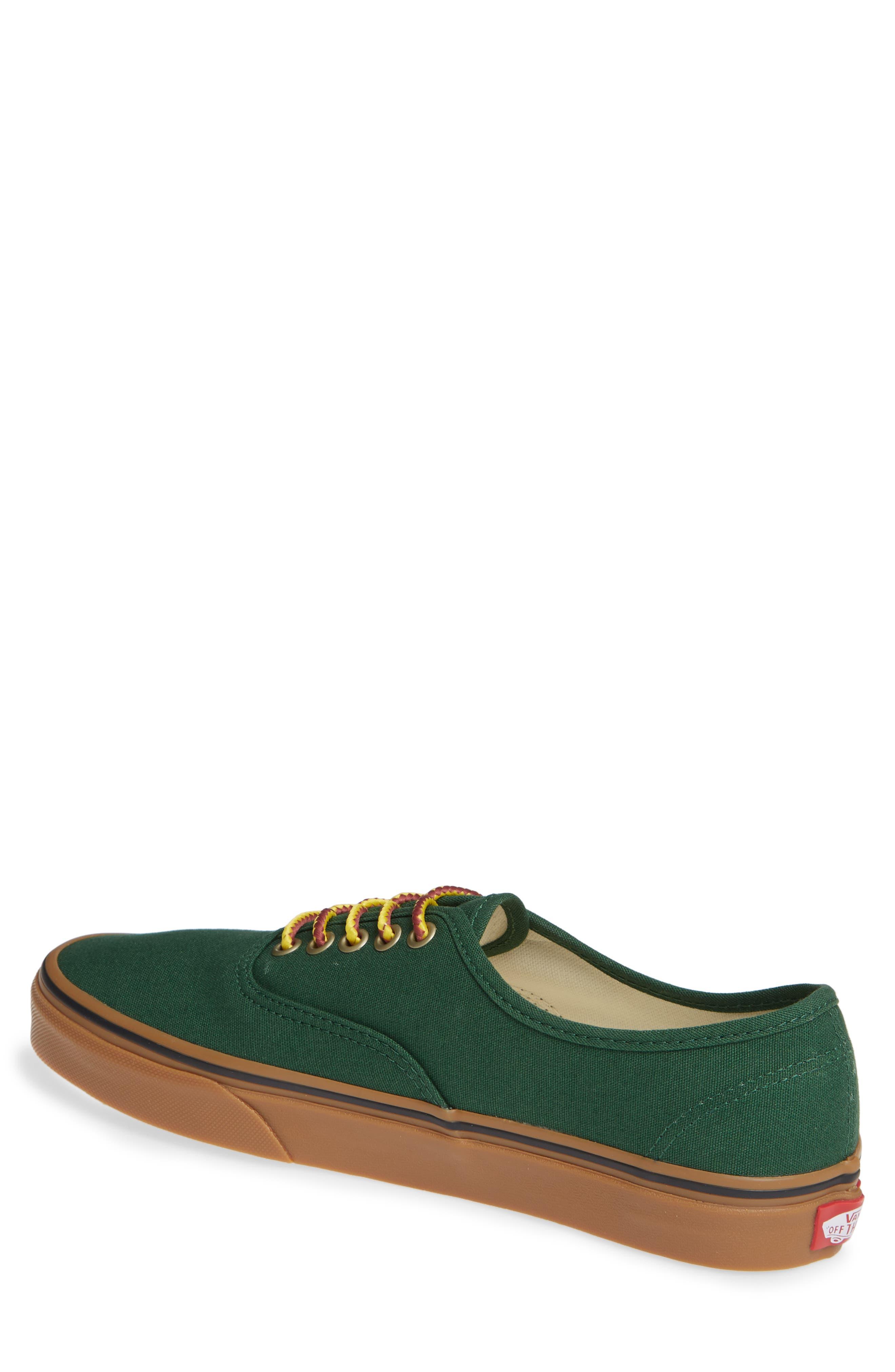 Authentic Sneaker,                             Alternate thumbnail 2, color,                             GREEN EDEN
