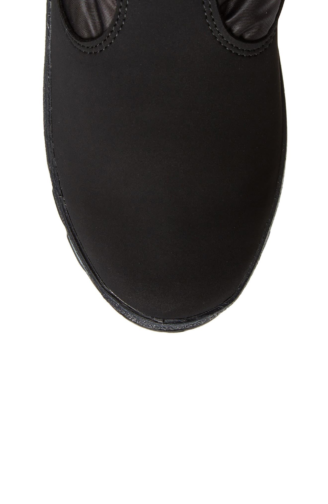 St. Anton Waterproof Winter Boot,                             Alternate thumbnail 5, color,                             BLACK/ ANTHRACITE