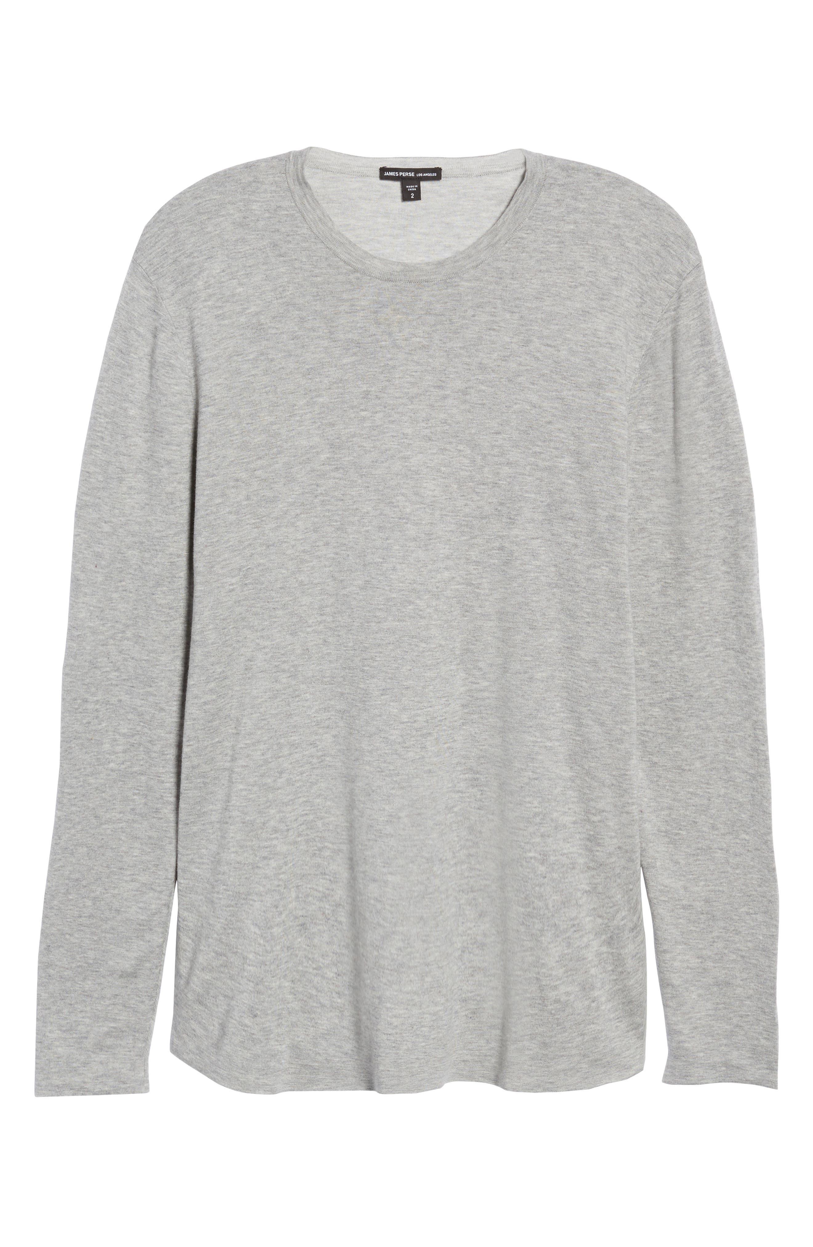 Reversible Long Sleeve T-Shirt,                             Alternate thumbnail 6, color,                             020