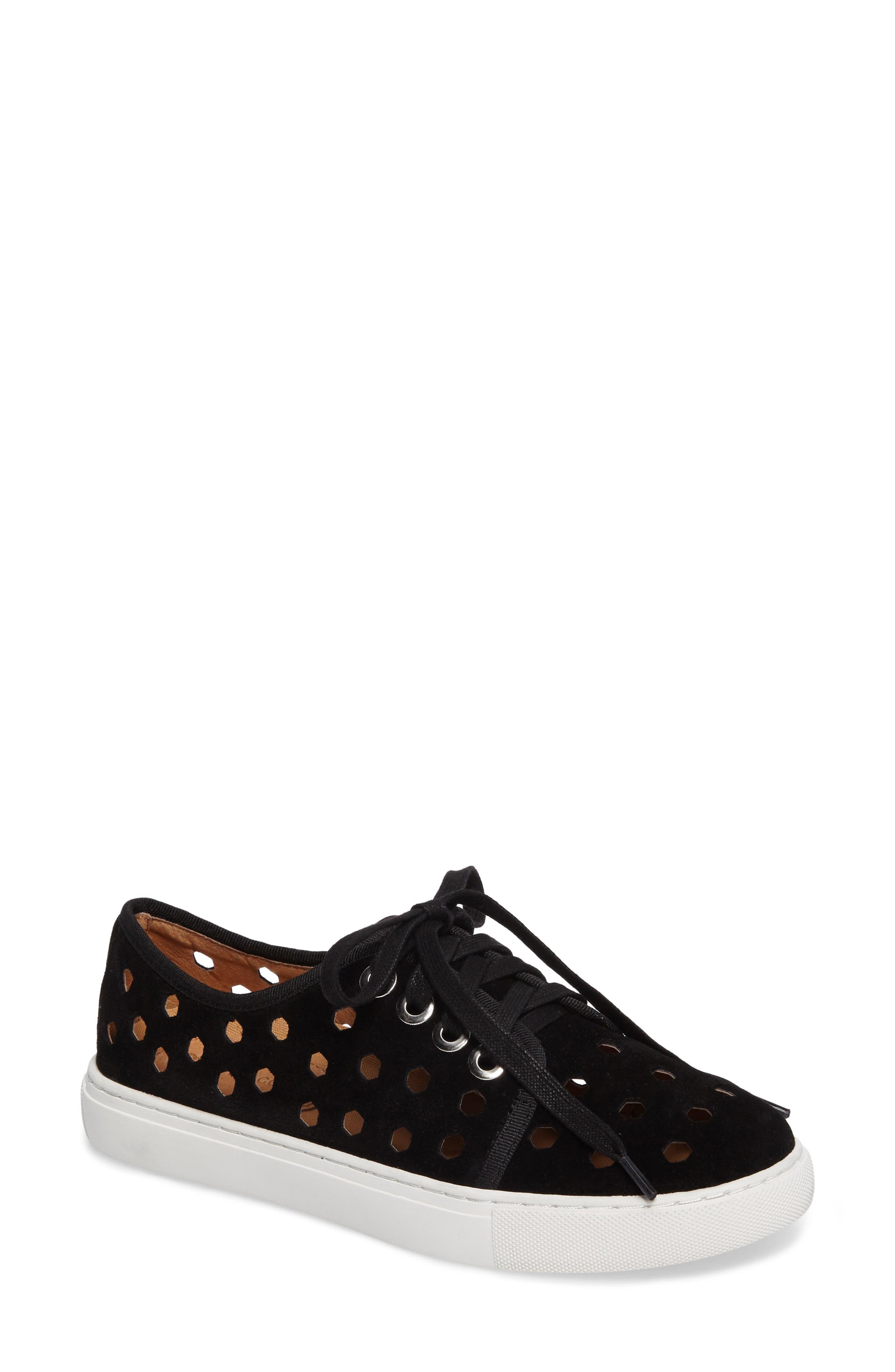 Rasta Perforated Sneaker,                             Main thumbnail 1, color,