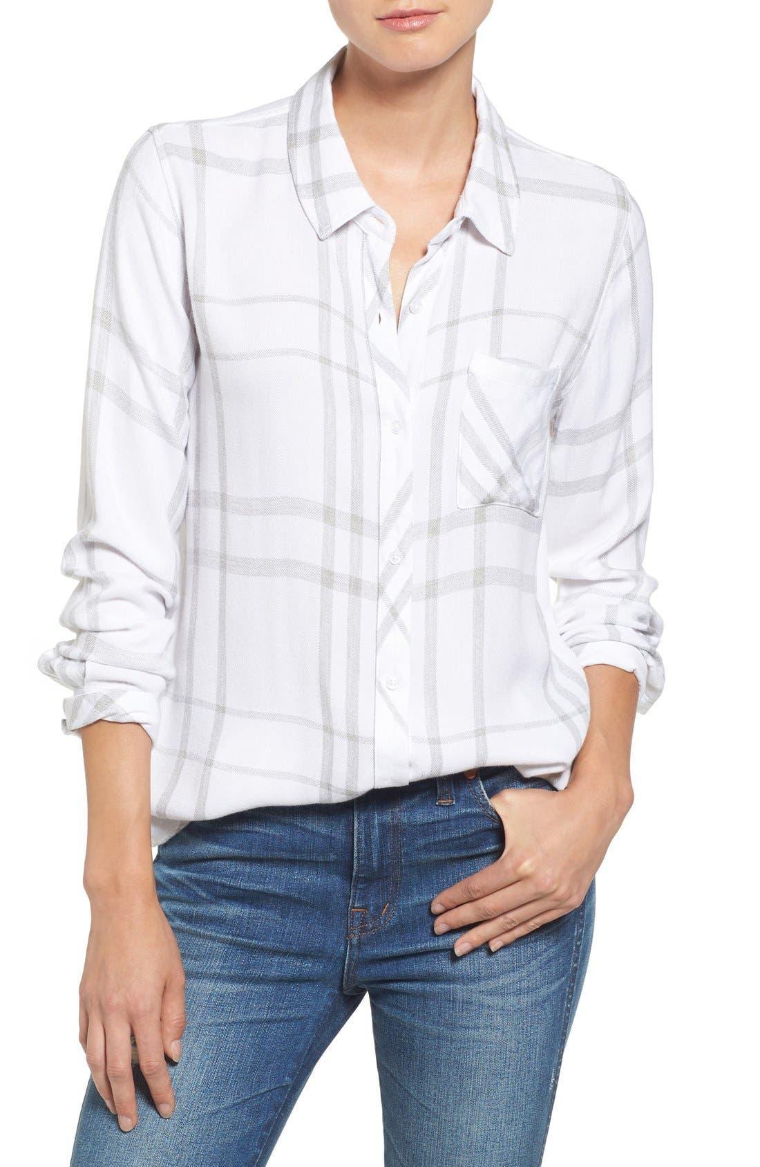 'Hunter' Plaid Shirt,                         Main,                         color, 111