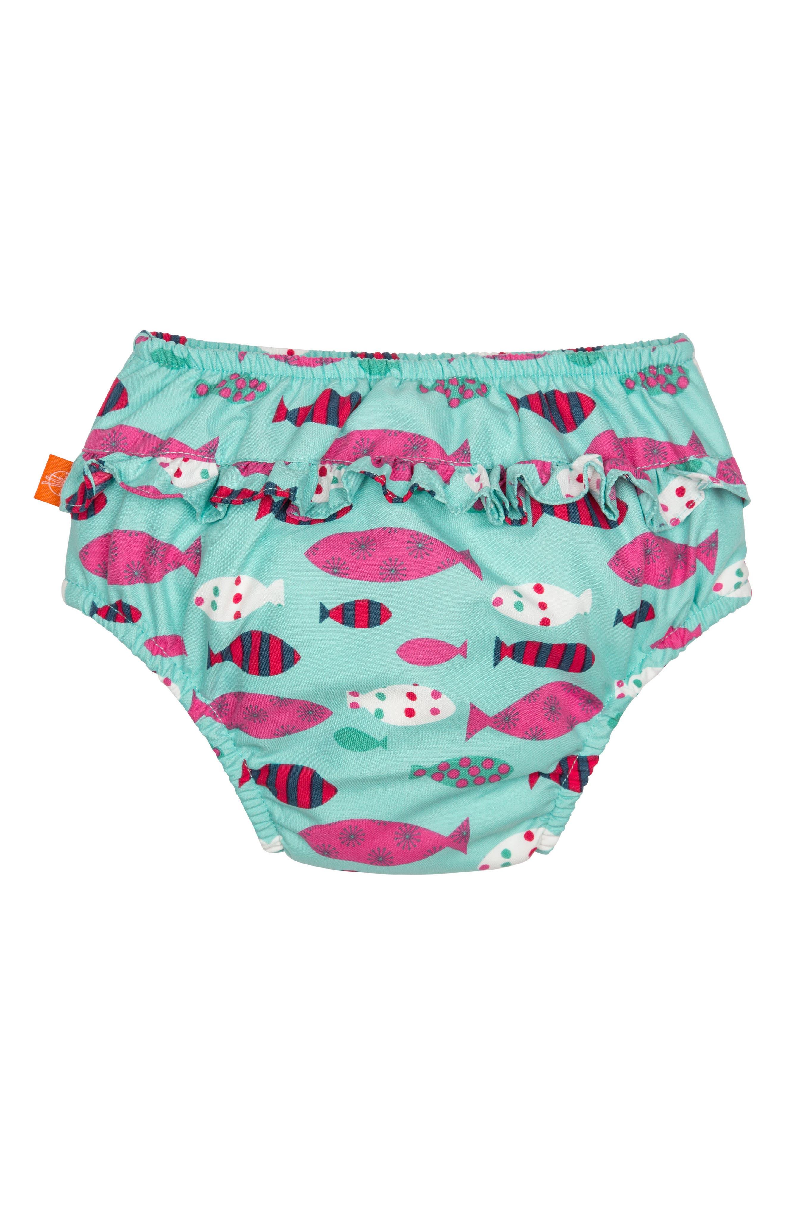 Mr. Fish Swim Diaper Cover,                             Alternate thumbnail 2, color,
