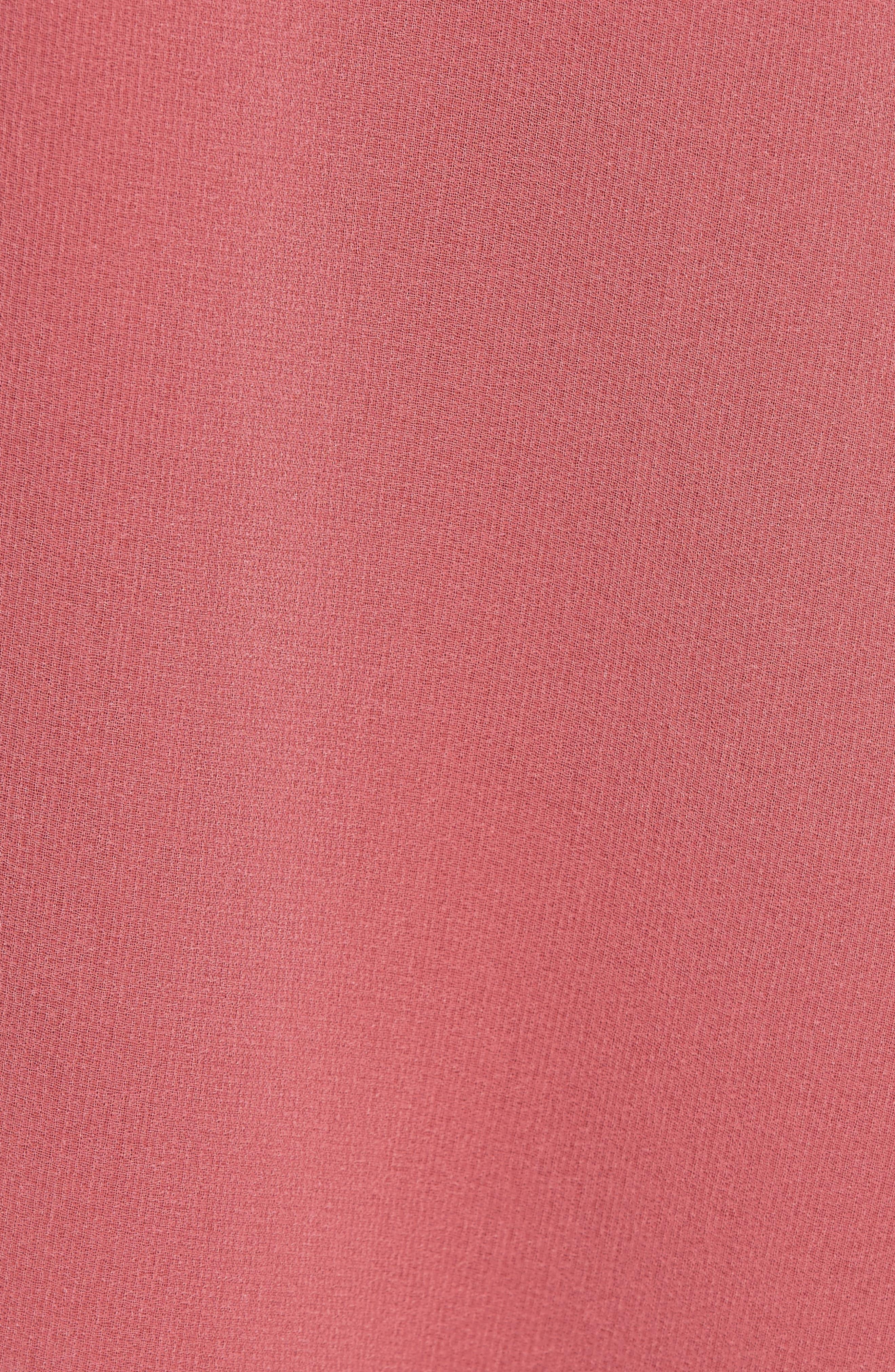 Night Lights Ruffle Dress,                             Alternate thumbnail 6, color,                             800
