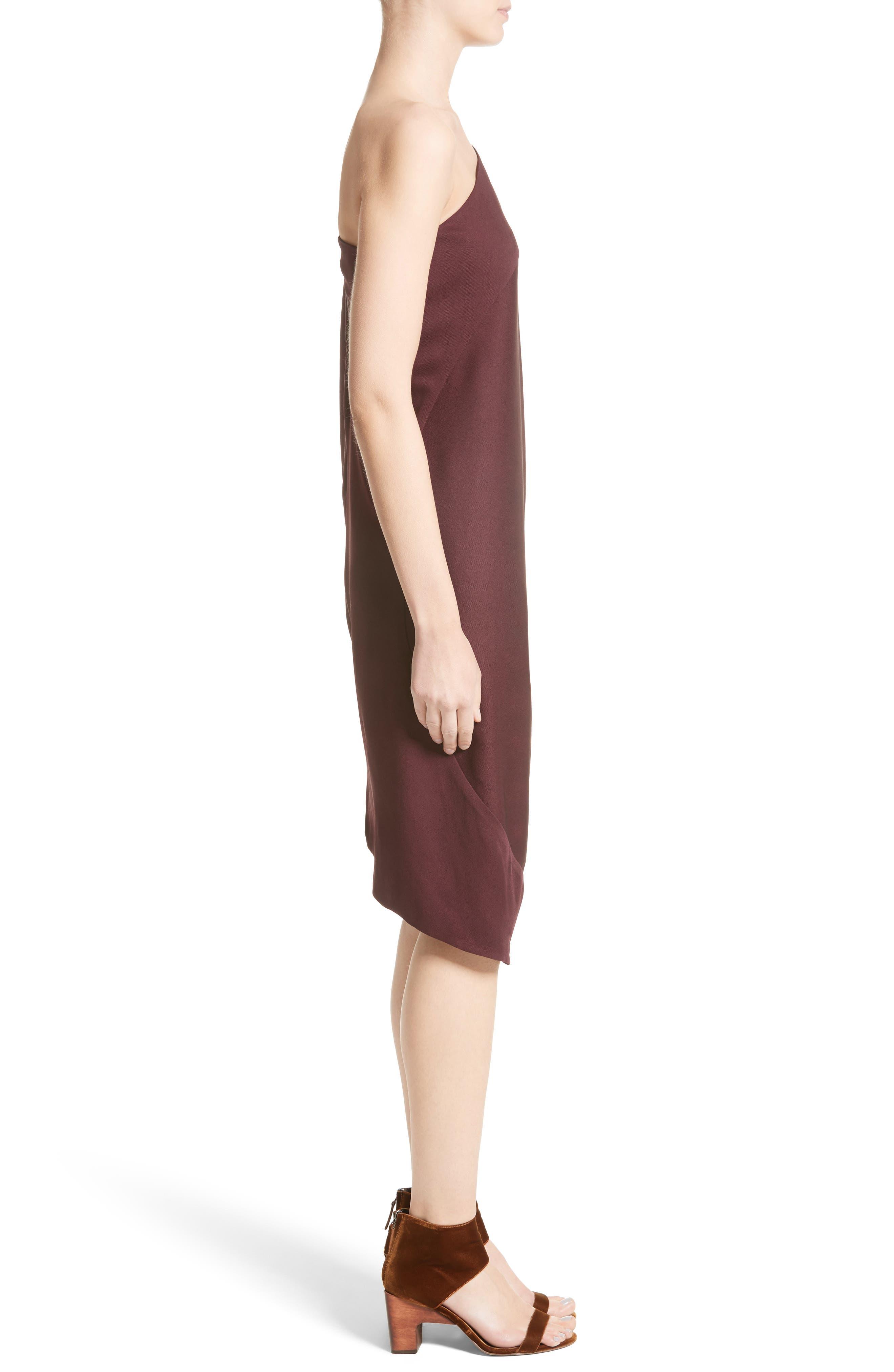 Lui Eco Drape One-Shoulder Dress,                             Alternate thumbnail 3, color,                             930