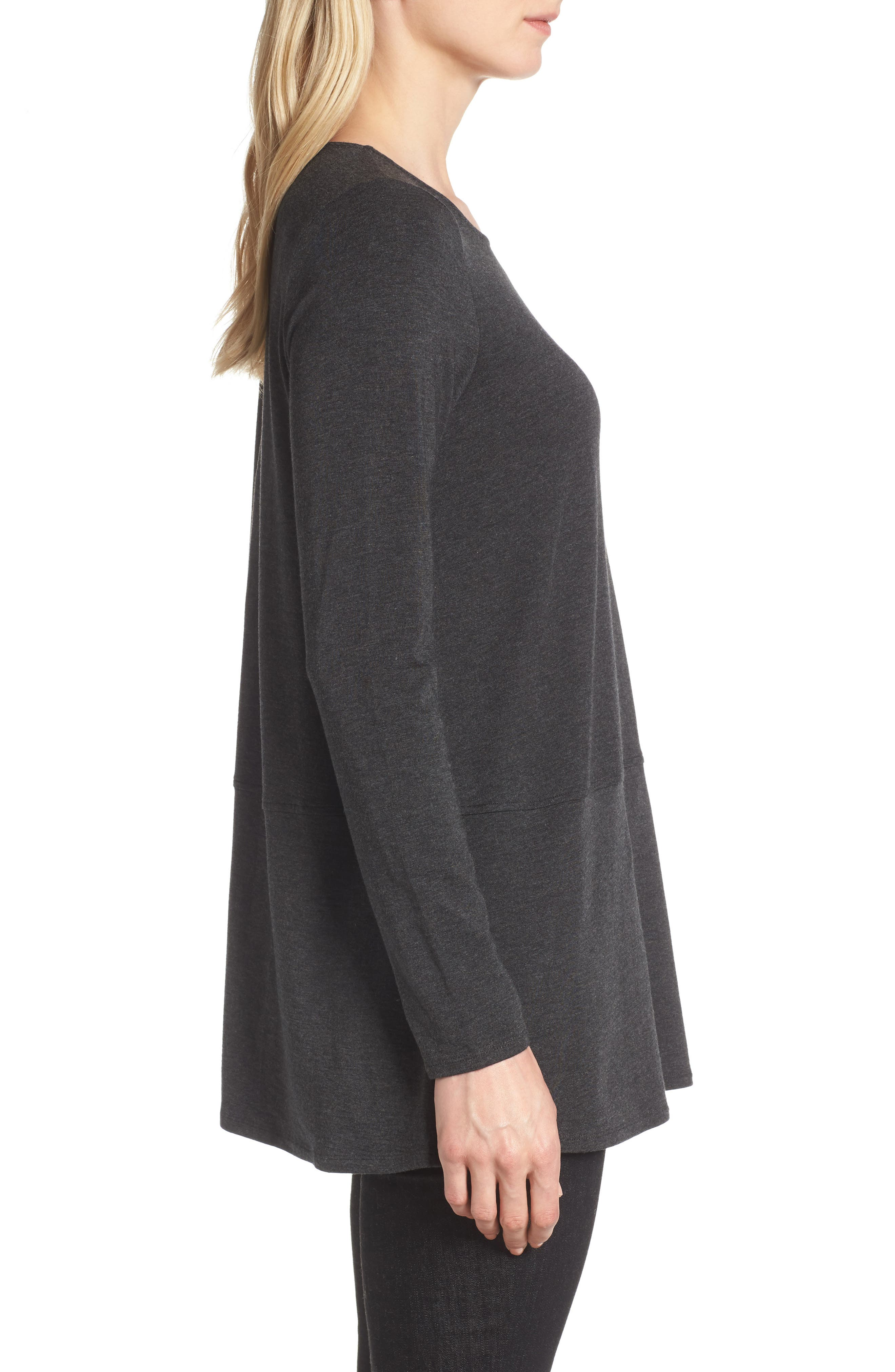 Stretch Tencel<sup>®</sup> Top,                             Alternate thumbnail 5, color,