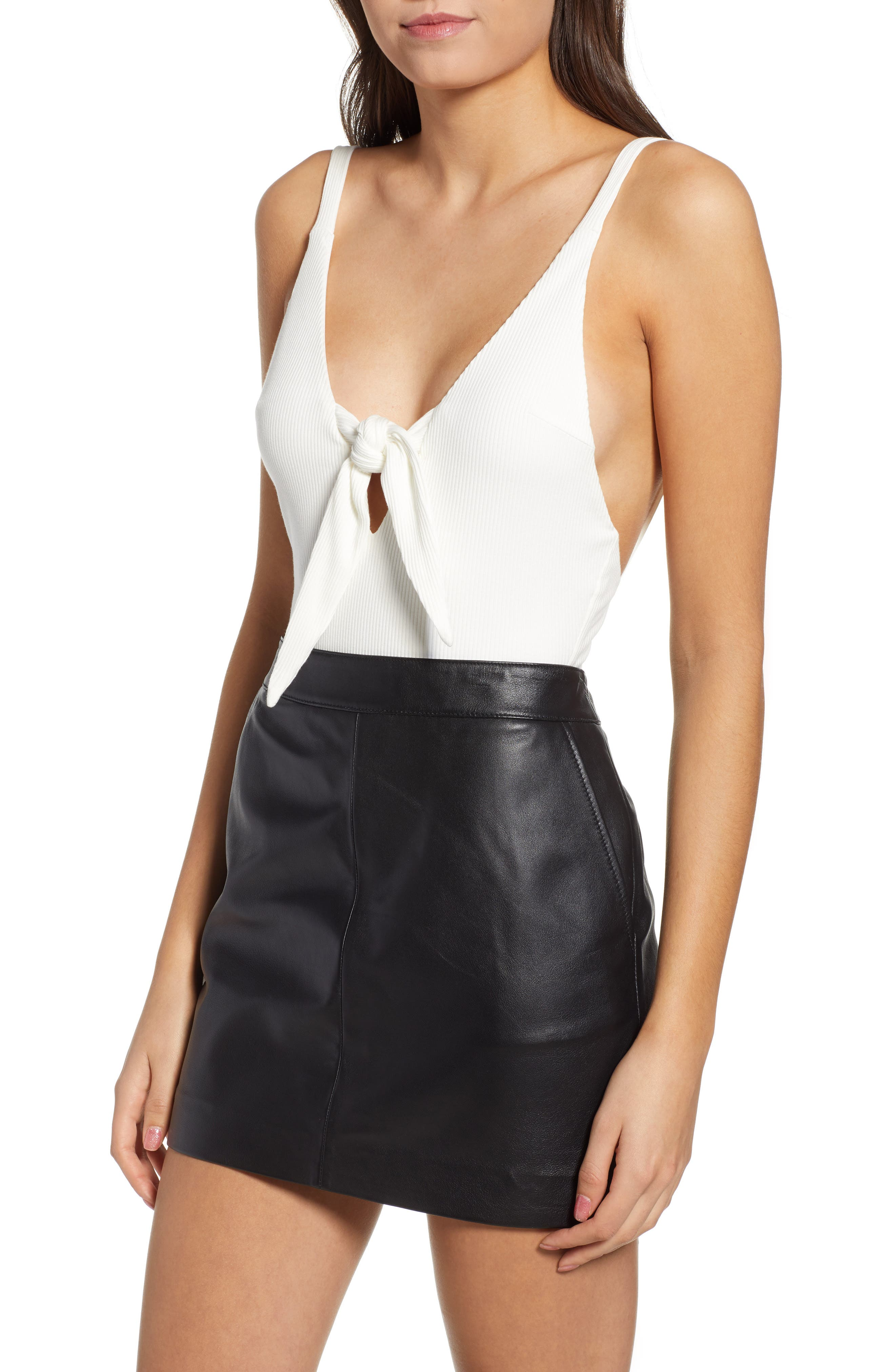 Hazel Bodysuit,                         Main,                         color, WHITE