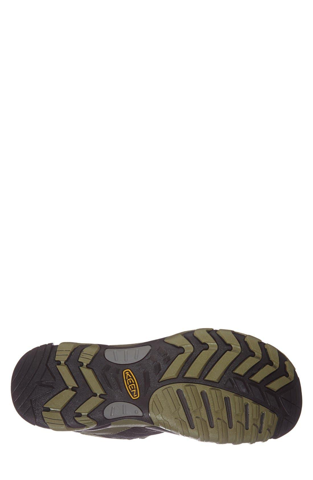'Marshall WP' Hiking Shoe,                             Alternate thumbnail 4, color,                             001