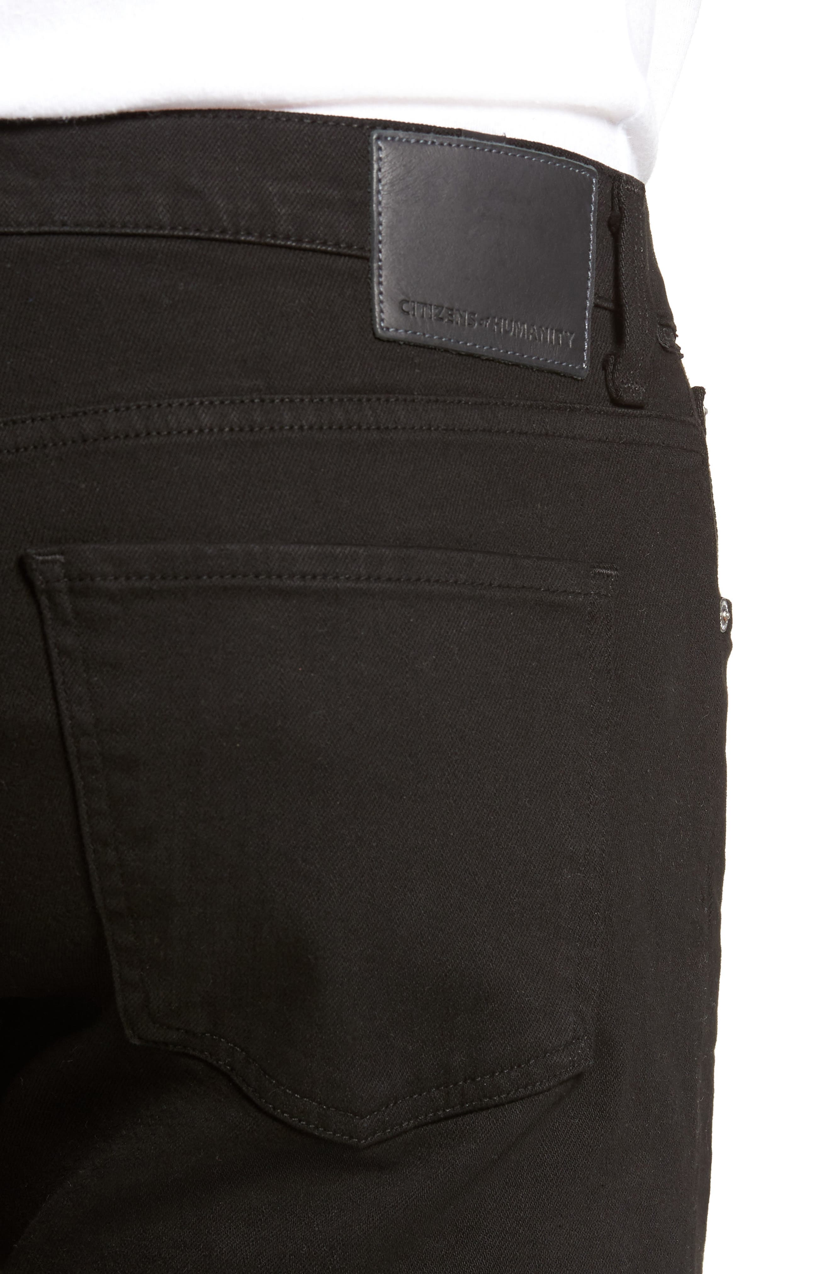 Sid Straight Fit Jeans,                             Alternate thumbnail 4, color,                             004