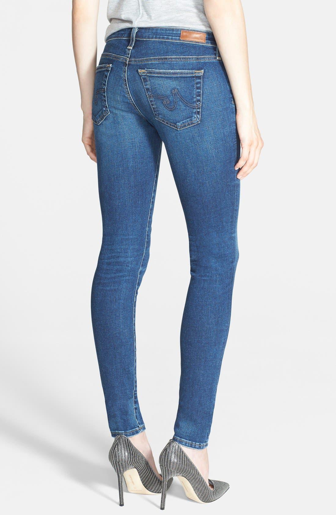 'The Legging' Super Skinny Jeans,                             Alternate thumbnail 43, color,