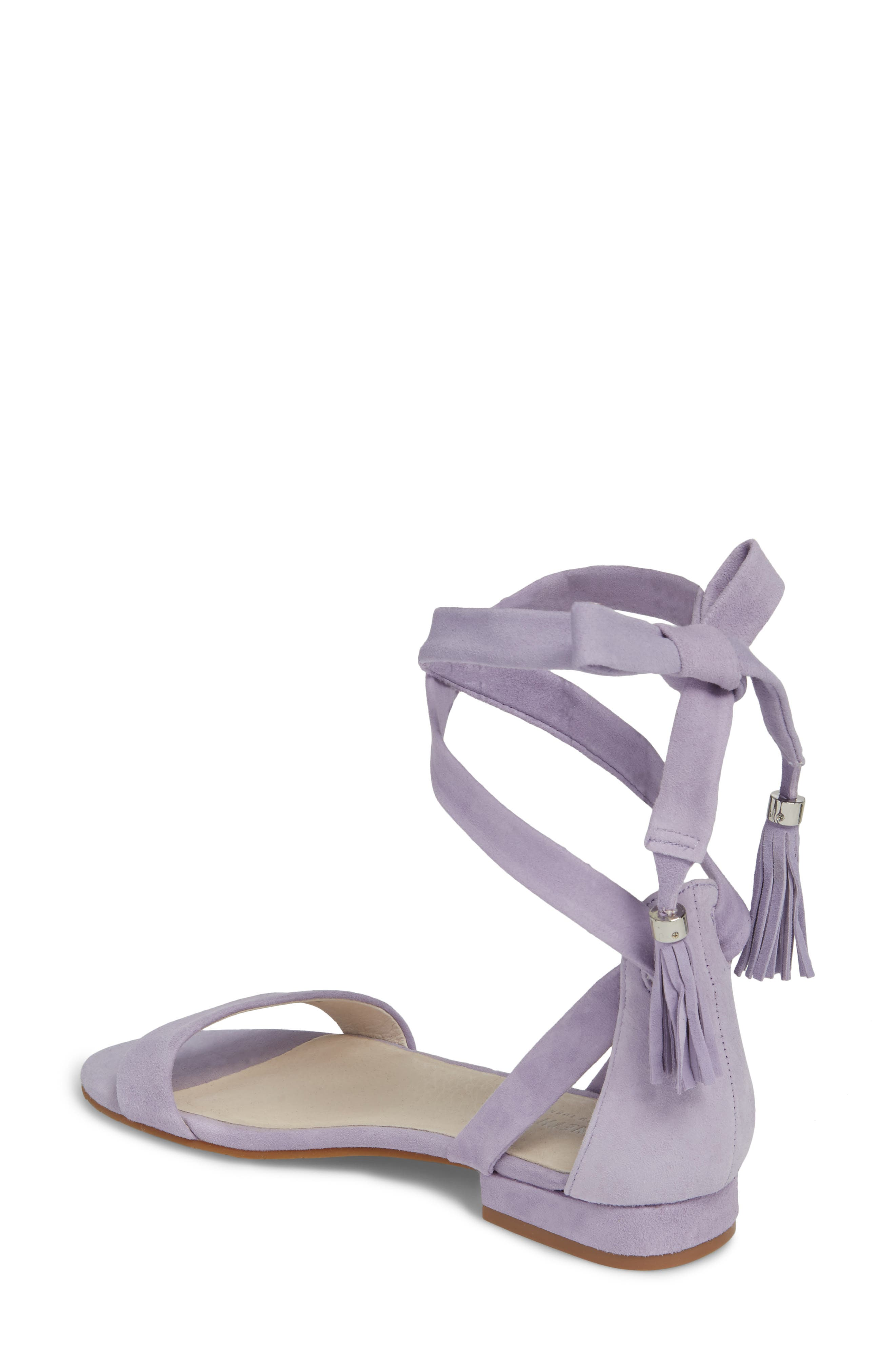 Valen Tassel Lace-Up Sandal,                             Alternate thumbnail 2, color,                             530