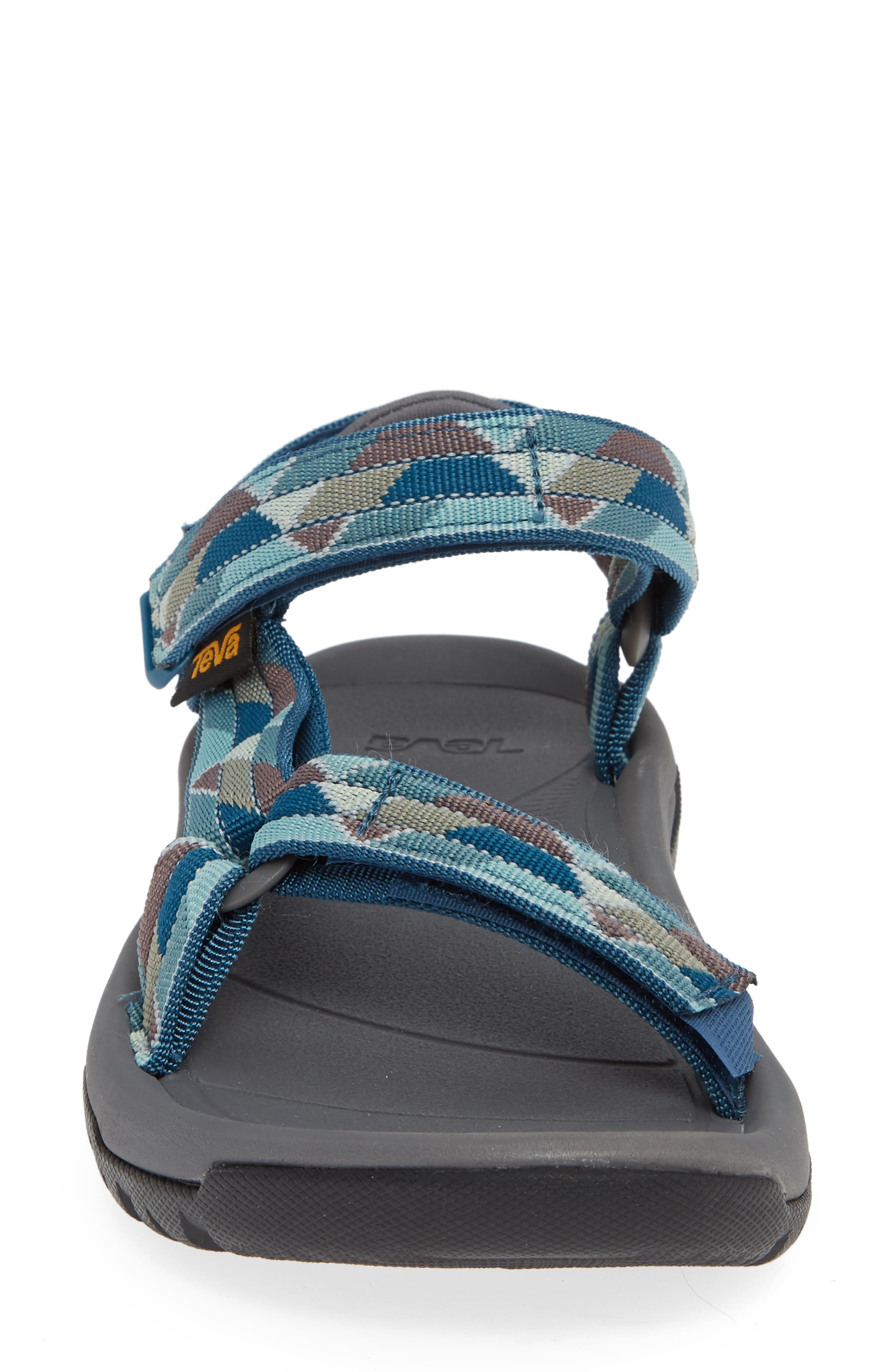 Hurricane XLT 2 Sandal,                             Alternate thumbnail 4, color,                             BLUE FABRIC