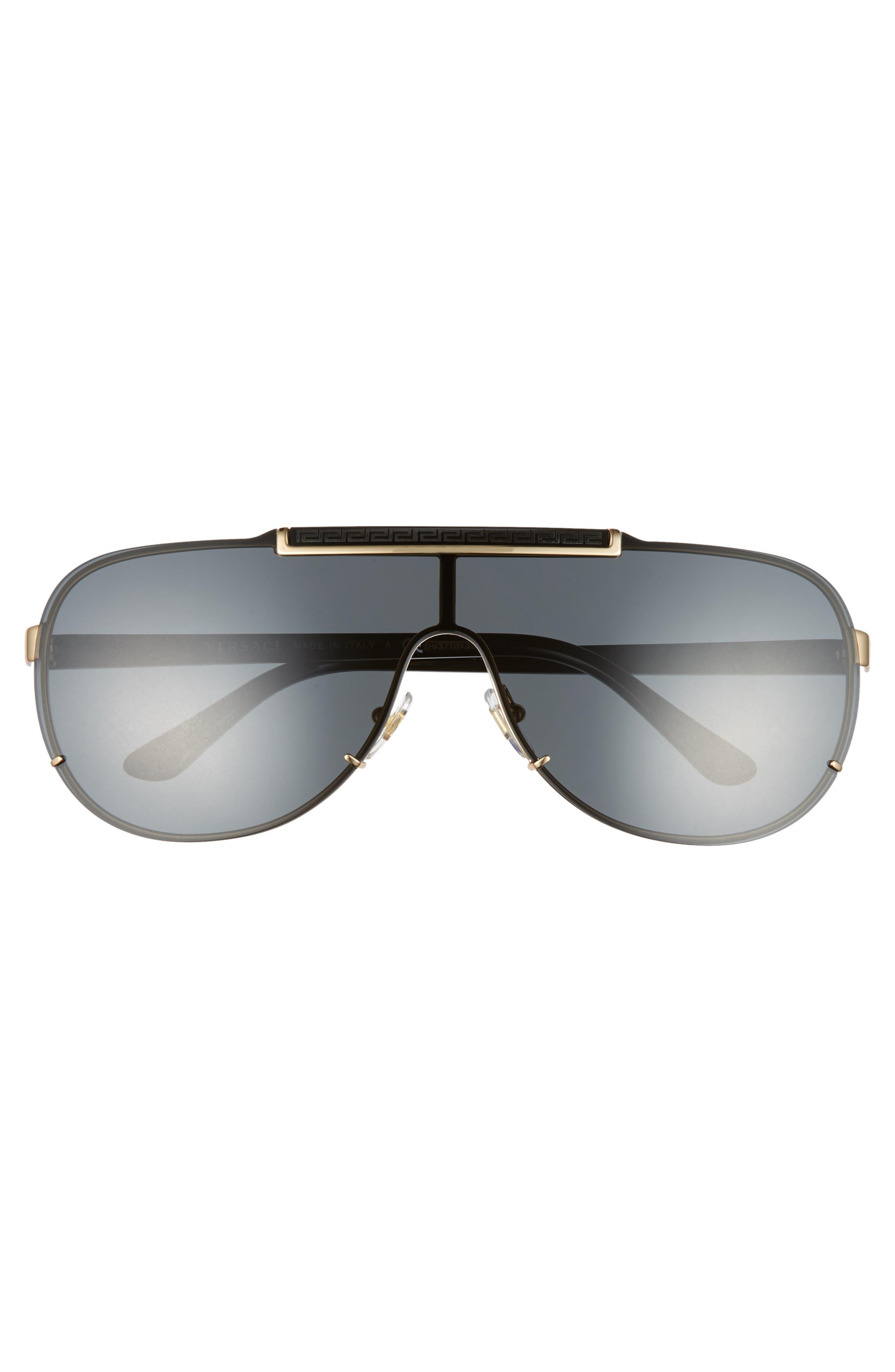 40mm Shield Sunglasses,                             Alternate thumbnail 3, color,                             007