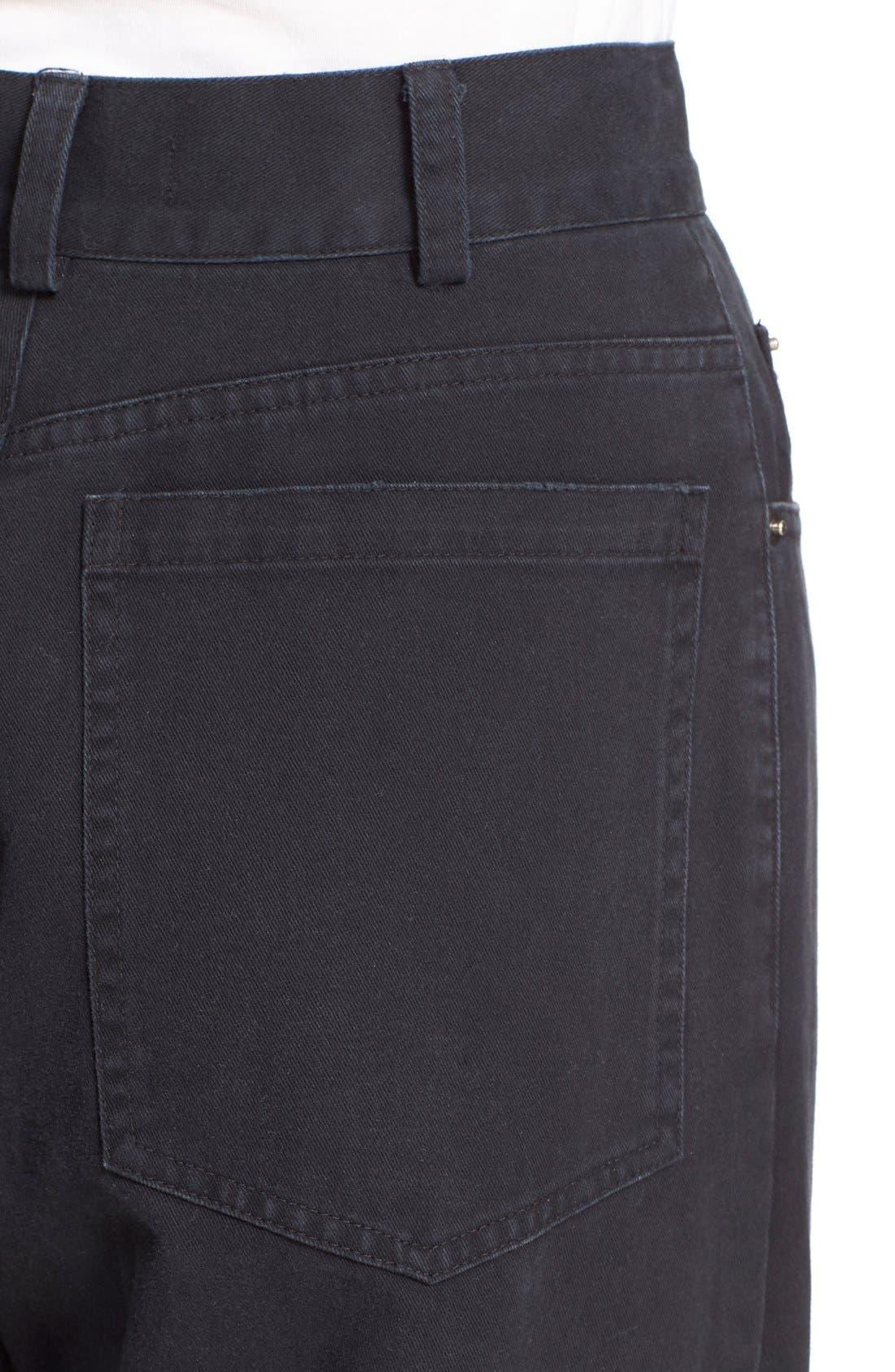 Legion Wide Leg Denim Pants,                             Alternate thumbnail 15, color,