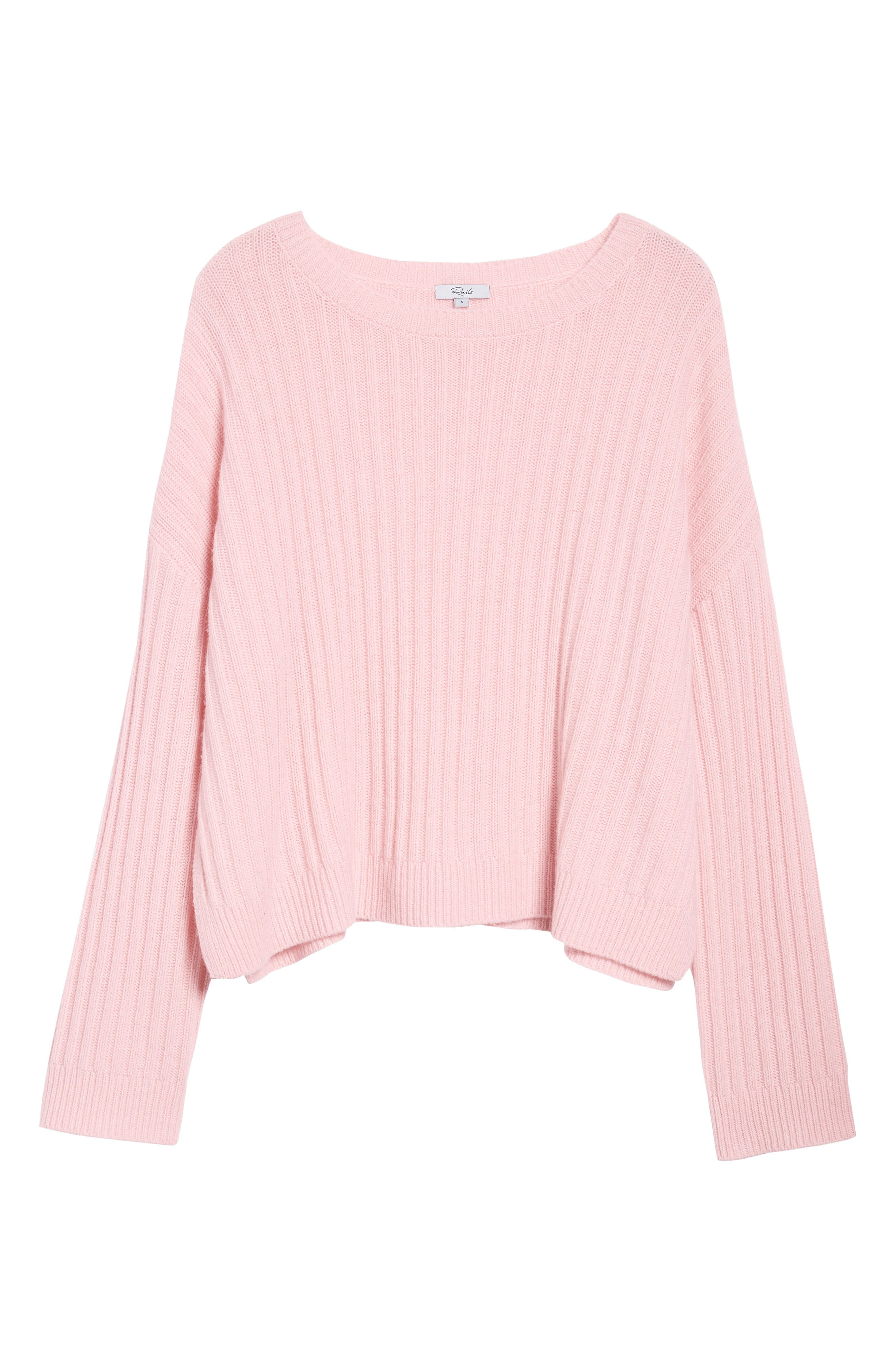 Joelle Rib Wool & Cashmere Sweater,                             Alternate thumbnail 6, color,                             673