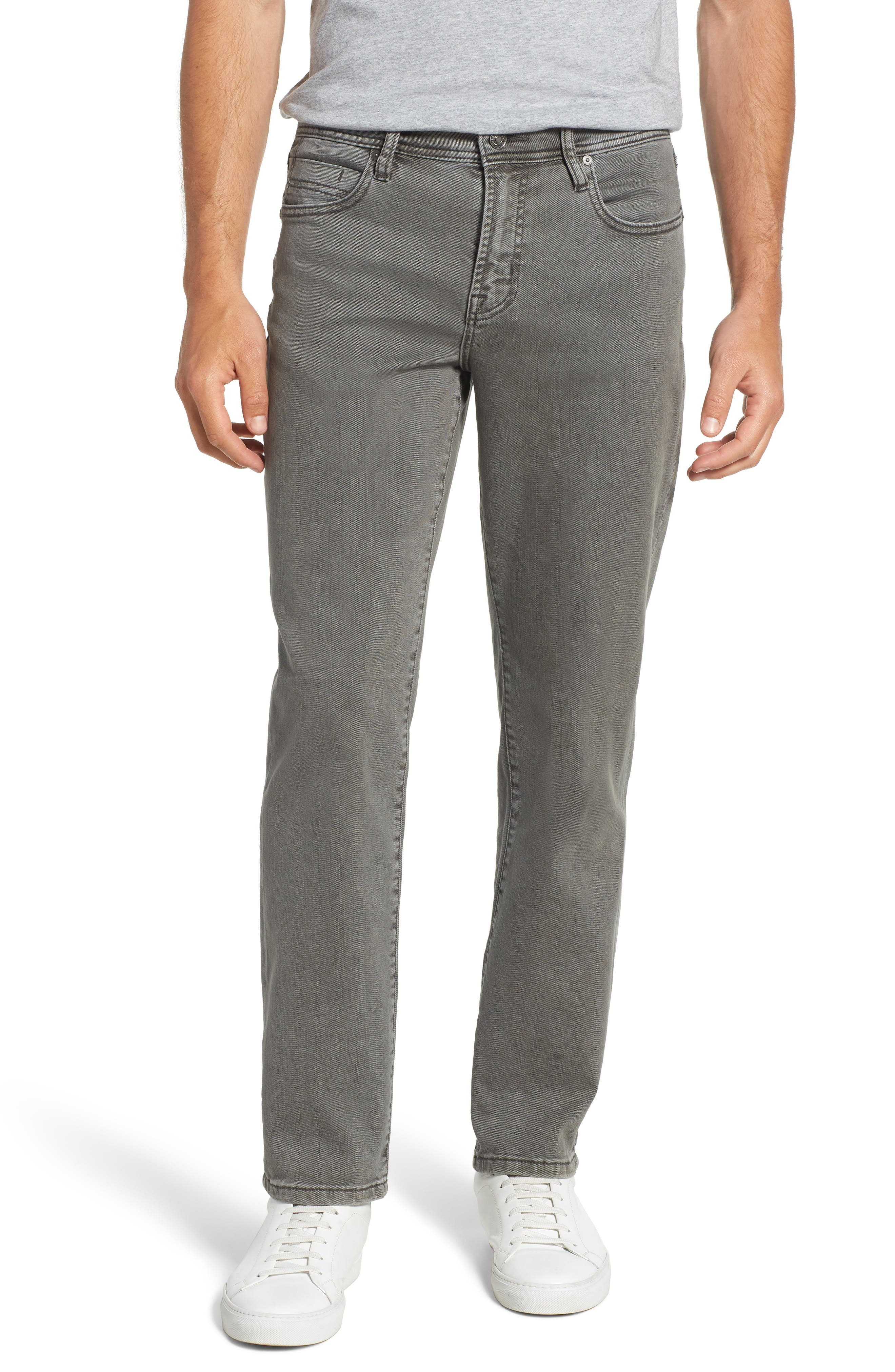 Regent Relaxed Fit Jeans,                         Main,                         color, GUNMETAL