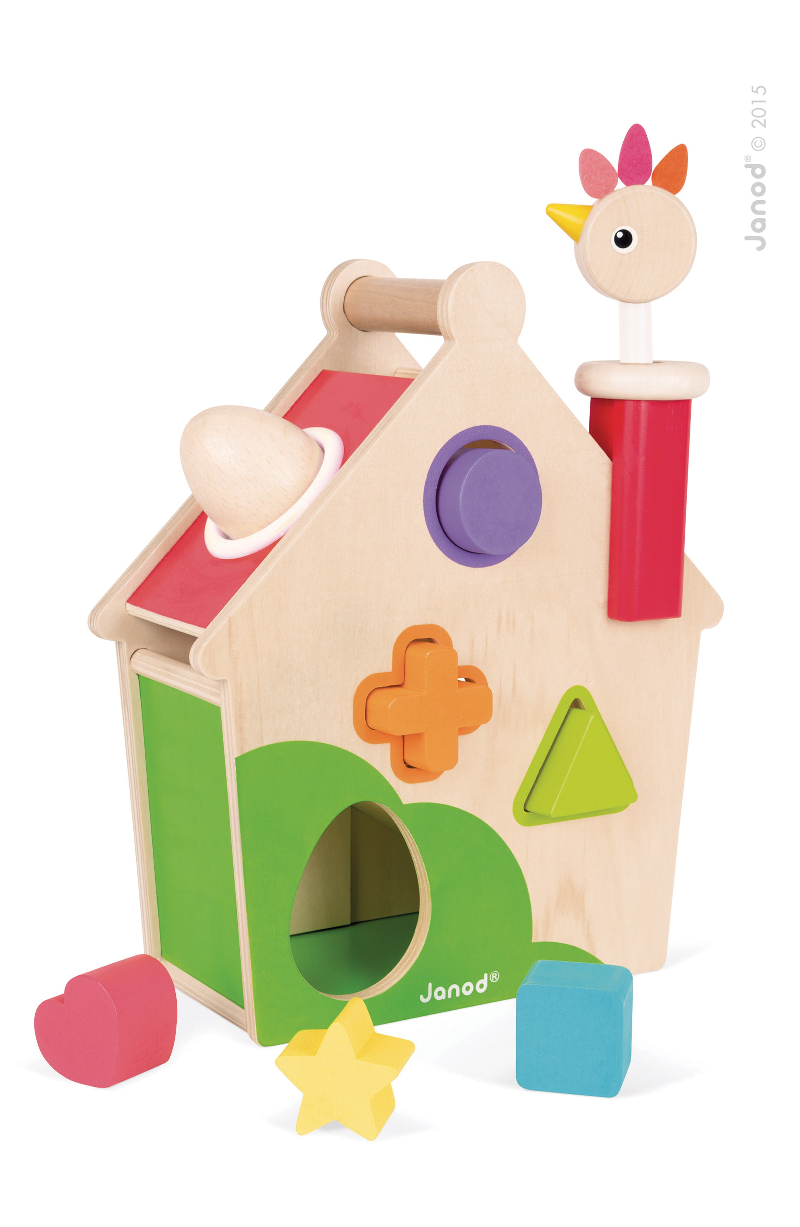 Wood Activity House,                             Main thumbnail 1, color,                             MULTI