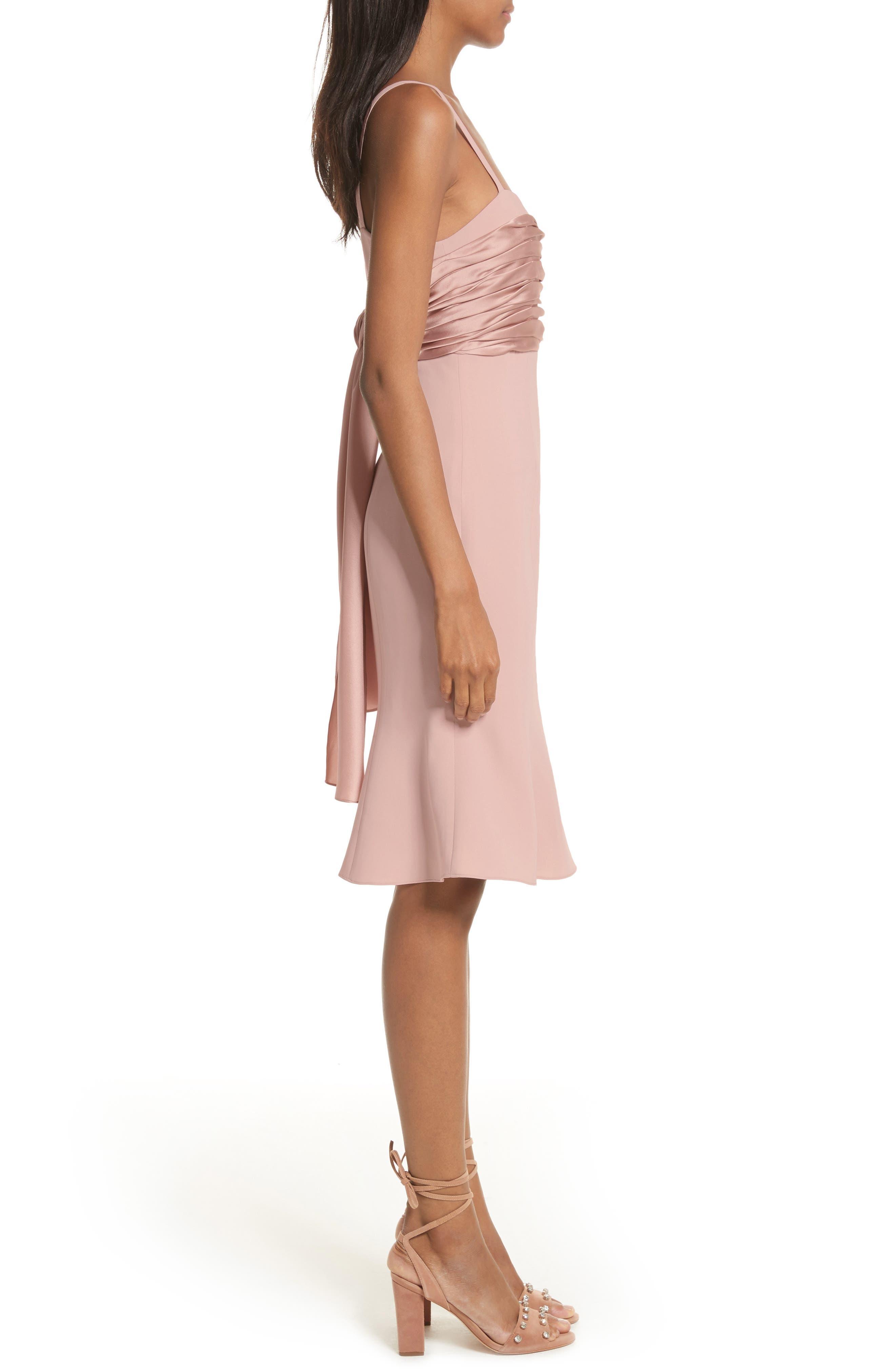 Paloma Fit & Flare Dress,                             Alternate thumbnail 3, color,                             563