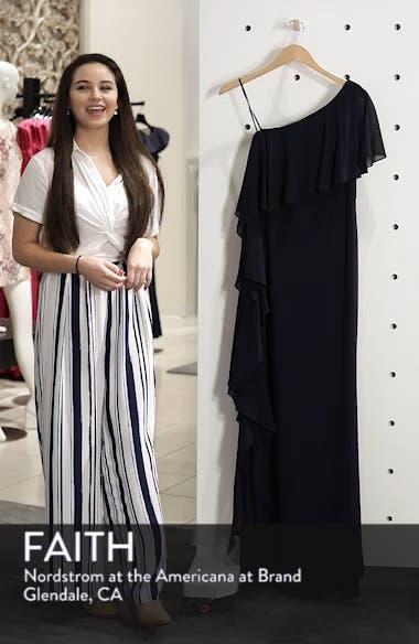 One-Shoulder Chiffon Gown, sales video thumbnail