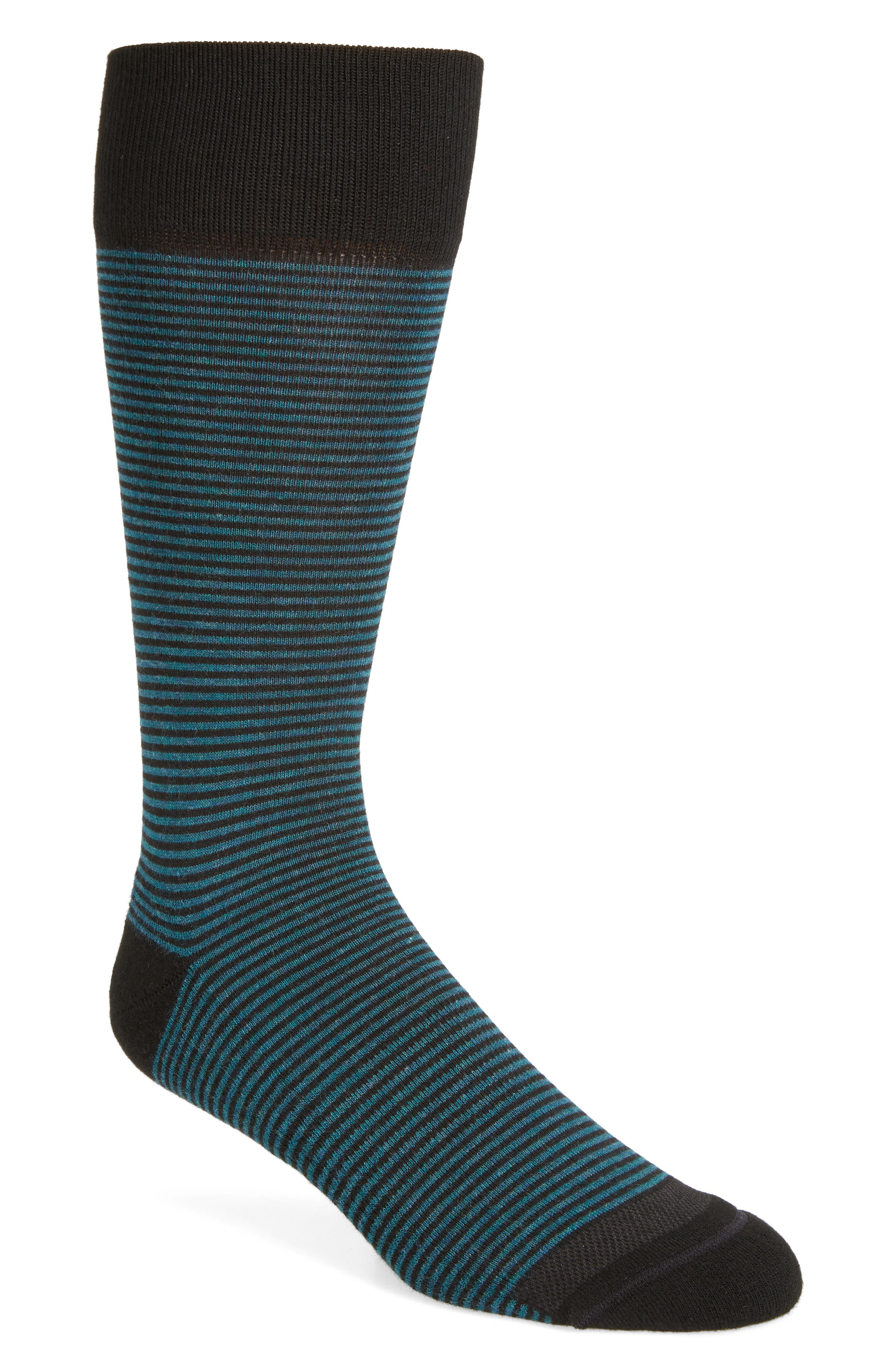 Feeder Stripe Socks,                             Alternate thumbnail 17, color,