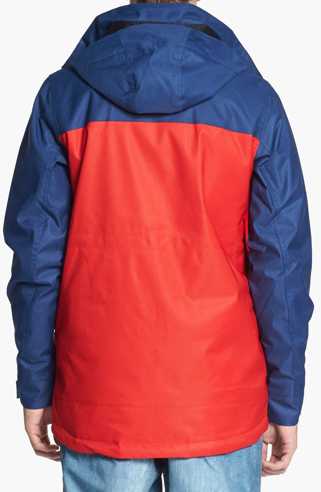 BURTON,                             'The White Collection - Cannon' Waterproof Jacket,                             Alternate thumbnail 4, color,                             414