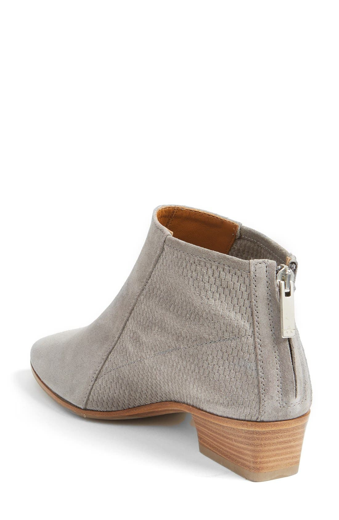 Fianna Perforated Bootie,                             Alternate thumbnail 7, color,