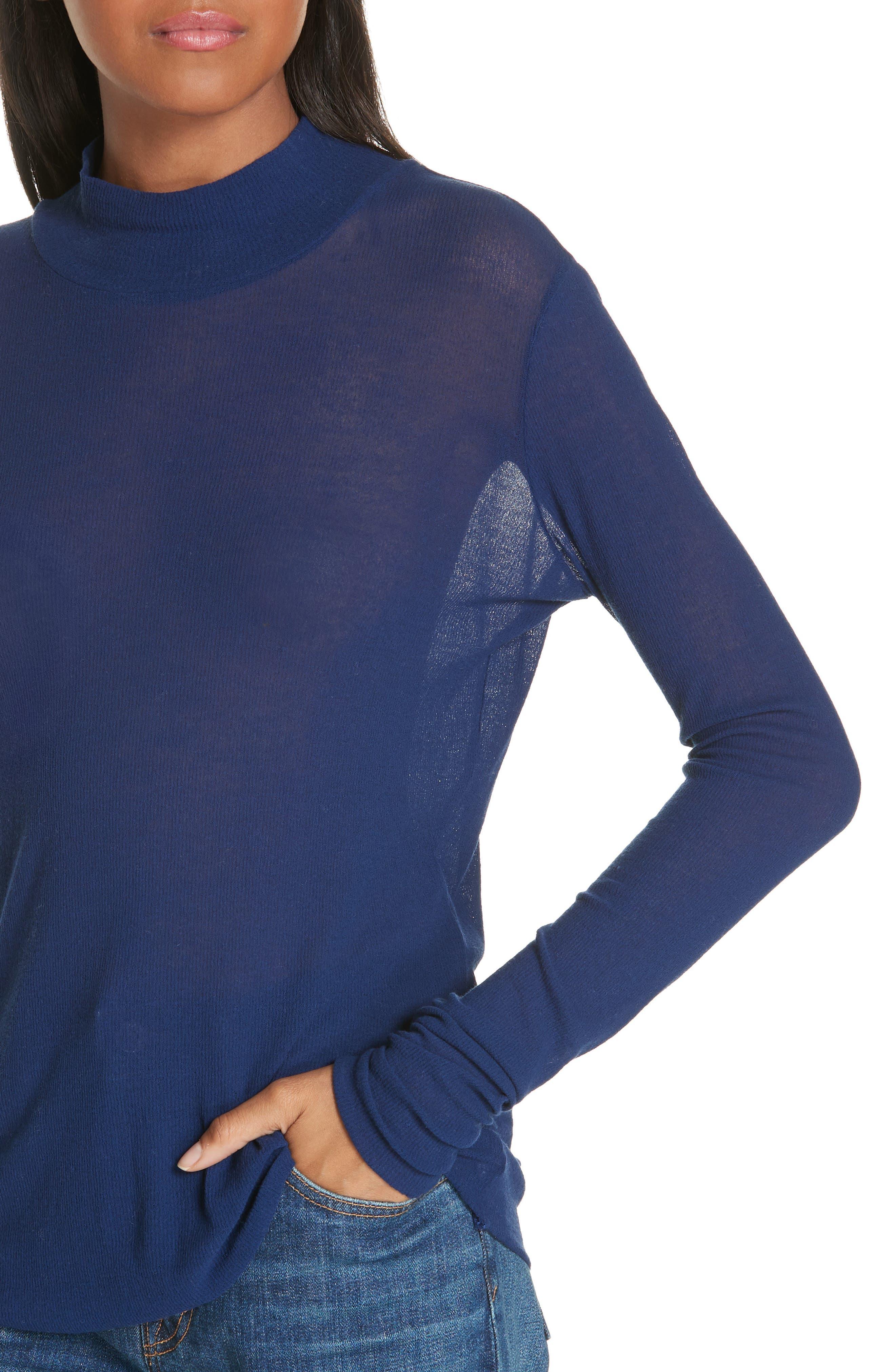 Turtleneck Sweater,                             Alternate thumbnail 4, color,                             406