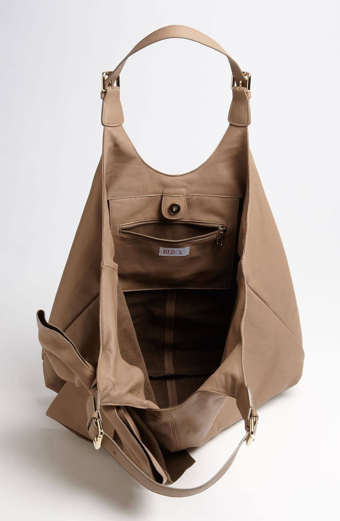 'Bow' Leather Hobo,                             Alternate thumbnail 11, color,