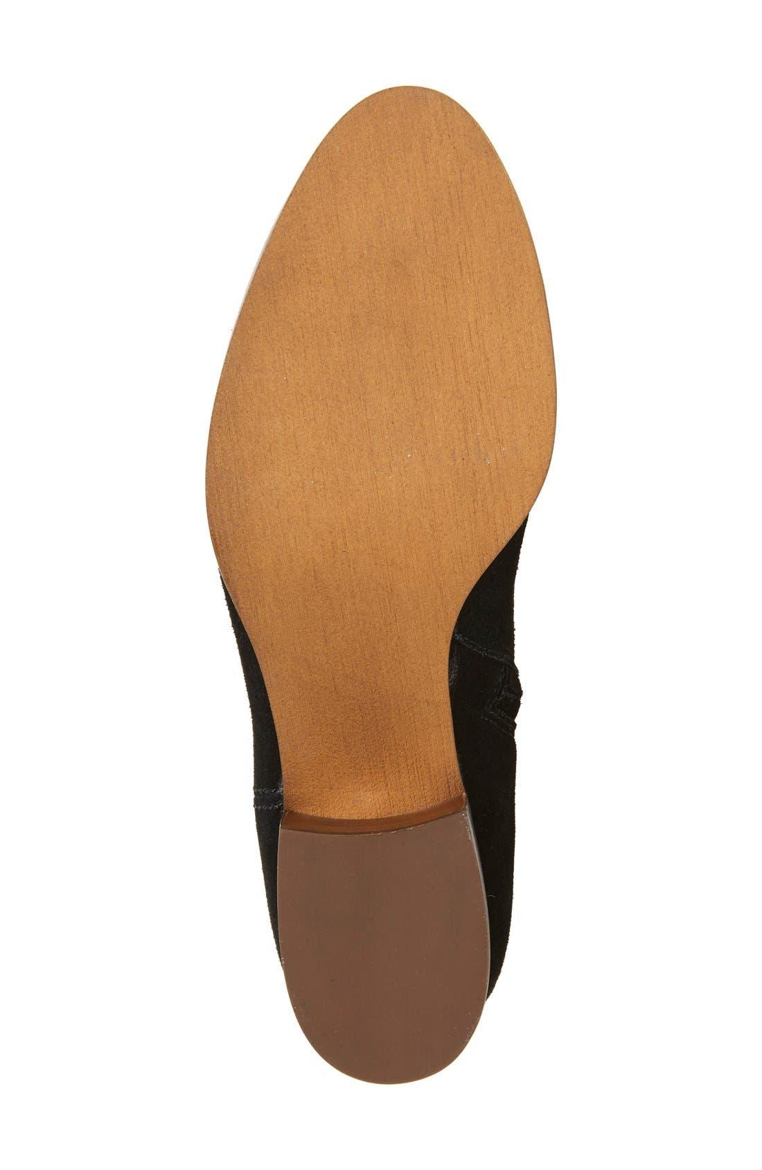 Tessie Tall Boot,                             Alternate thumbnail 4, color,                             001