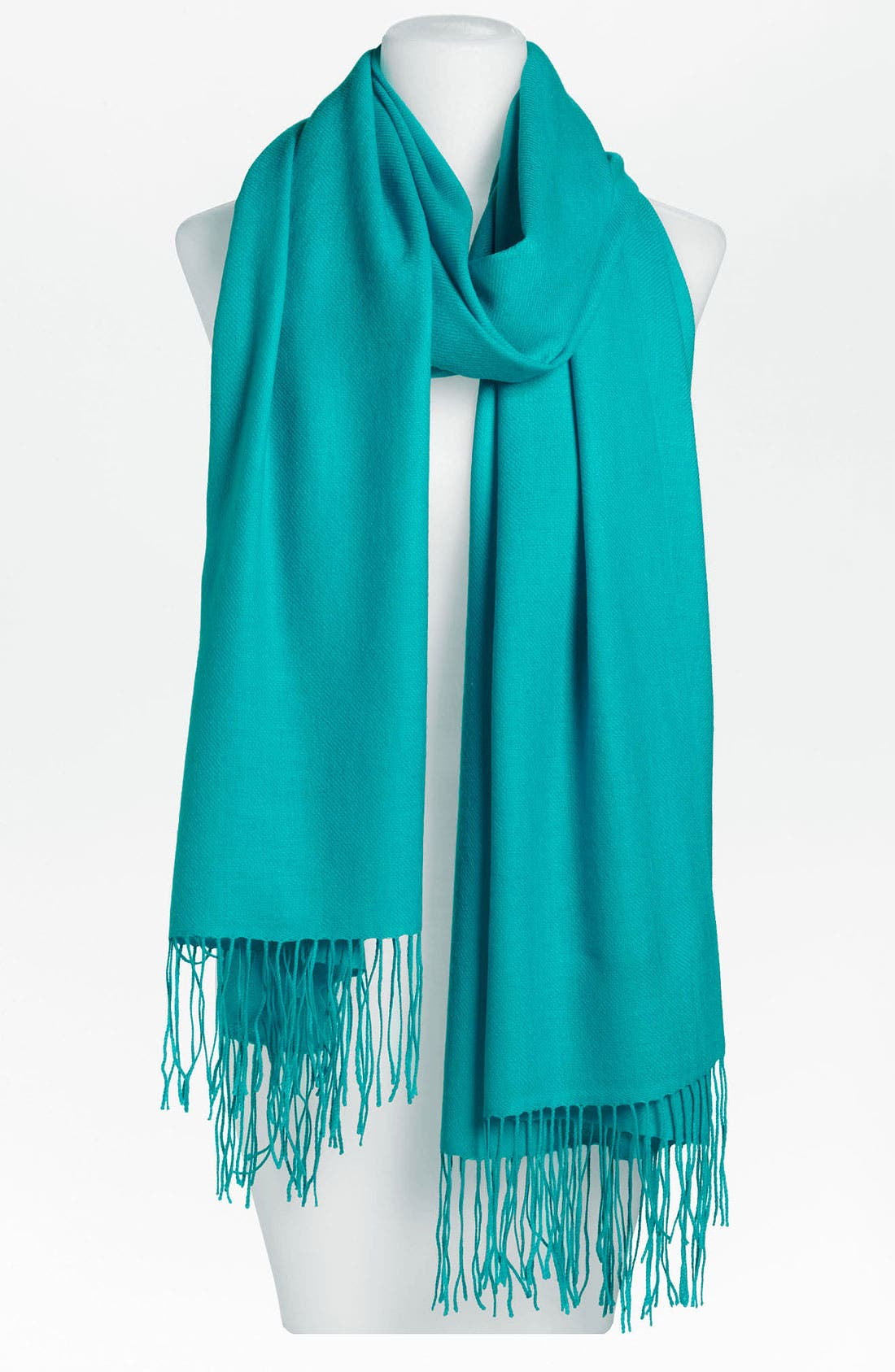 Tissue Weight Wool & Cashmere Wrap,                             Main thumbnail 75, color,