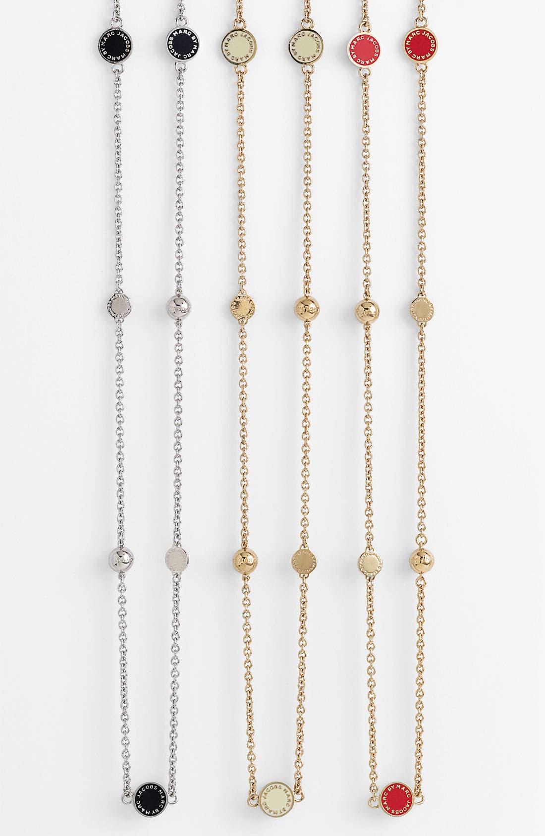 'Classic Marc' Long Necklace,                             Main thumbnail 1, color,                             002