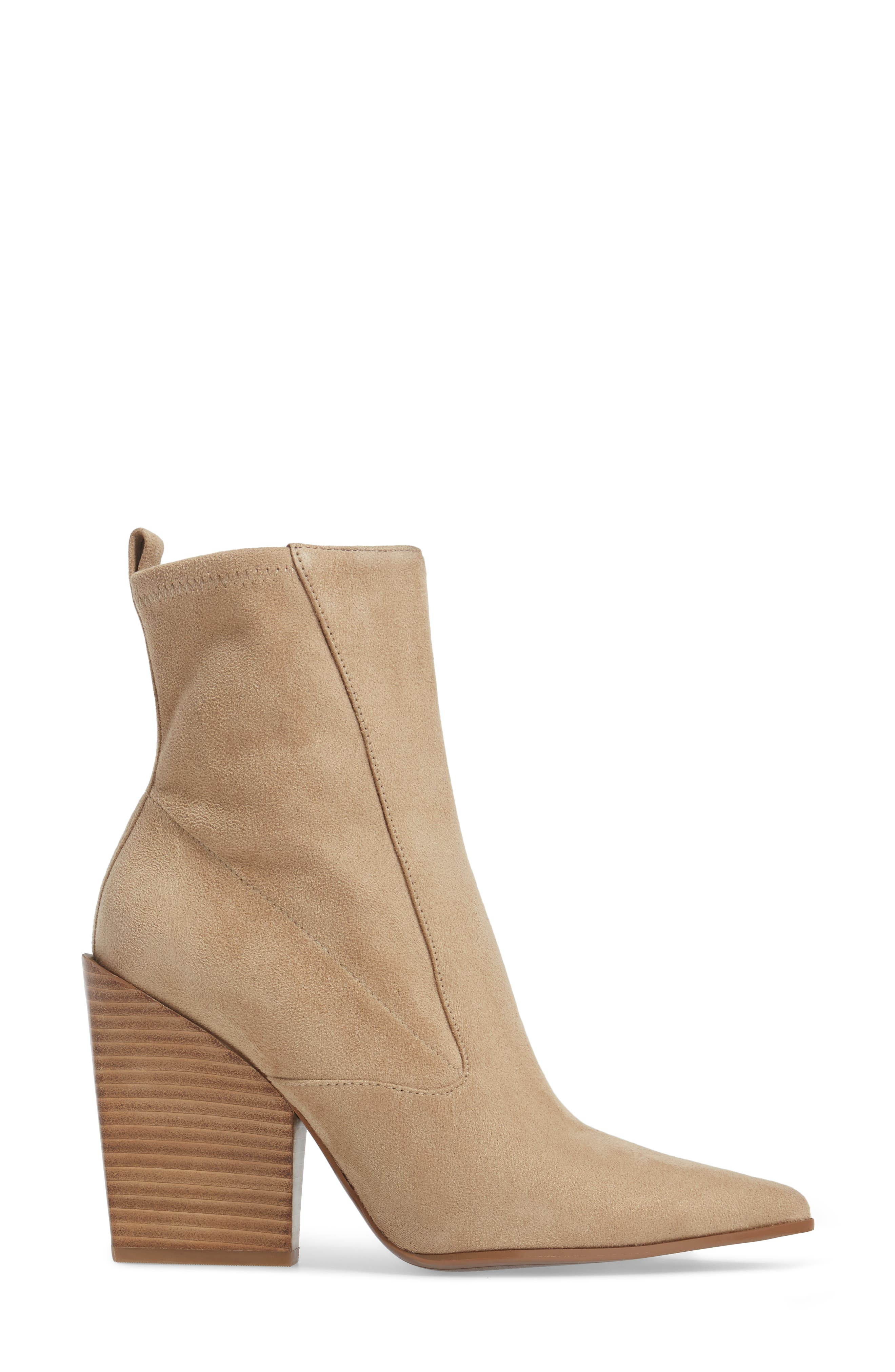 Fallyn Pointed Toe Bootie,                             Alternate thumbnail 6, color,