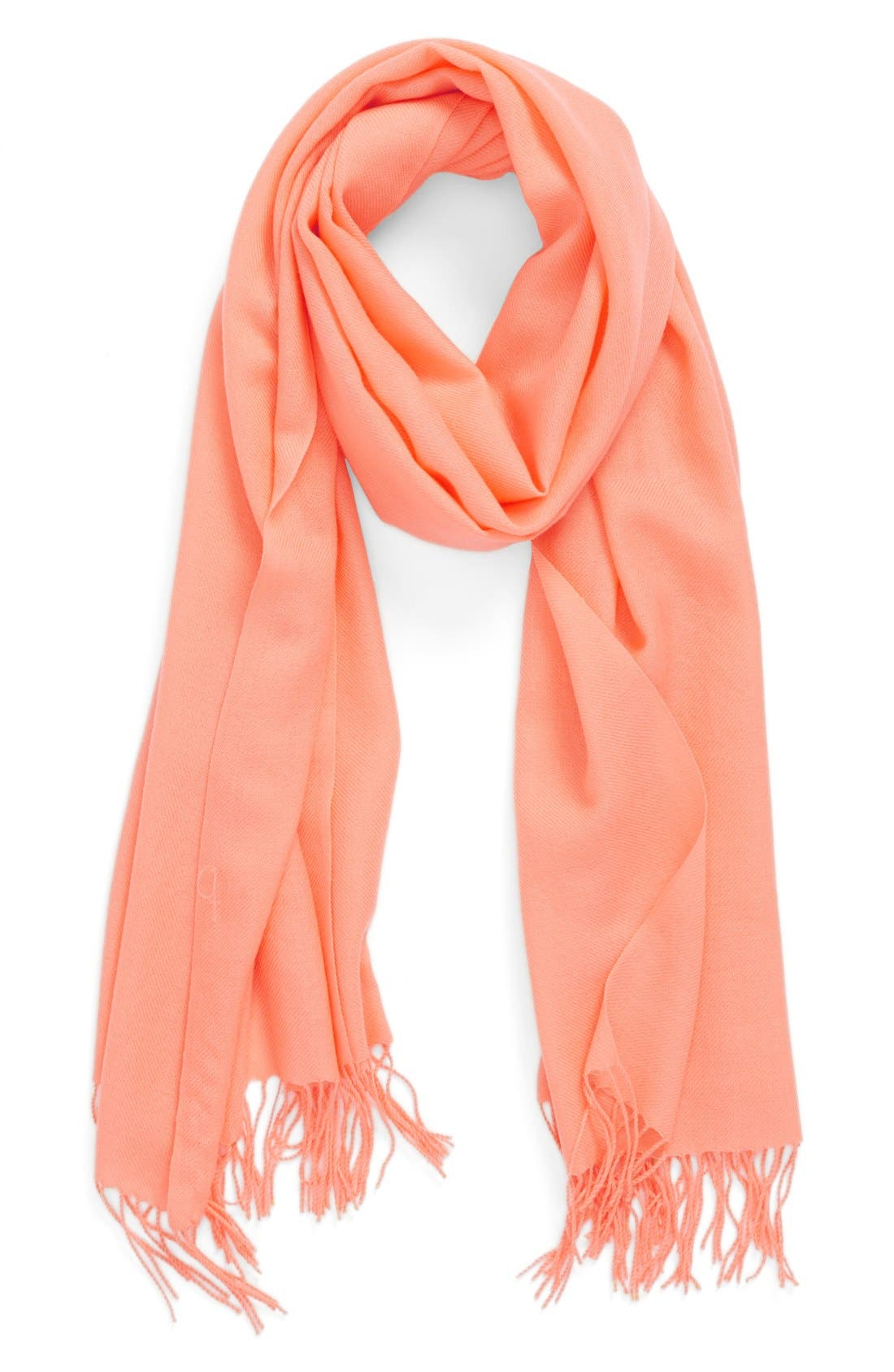 Tissue Weight Wool & Cashmere Scarf,                             Main thumbnail 71, color,
