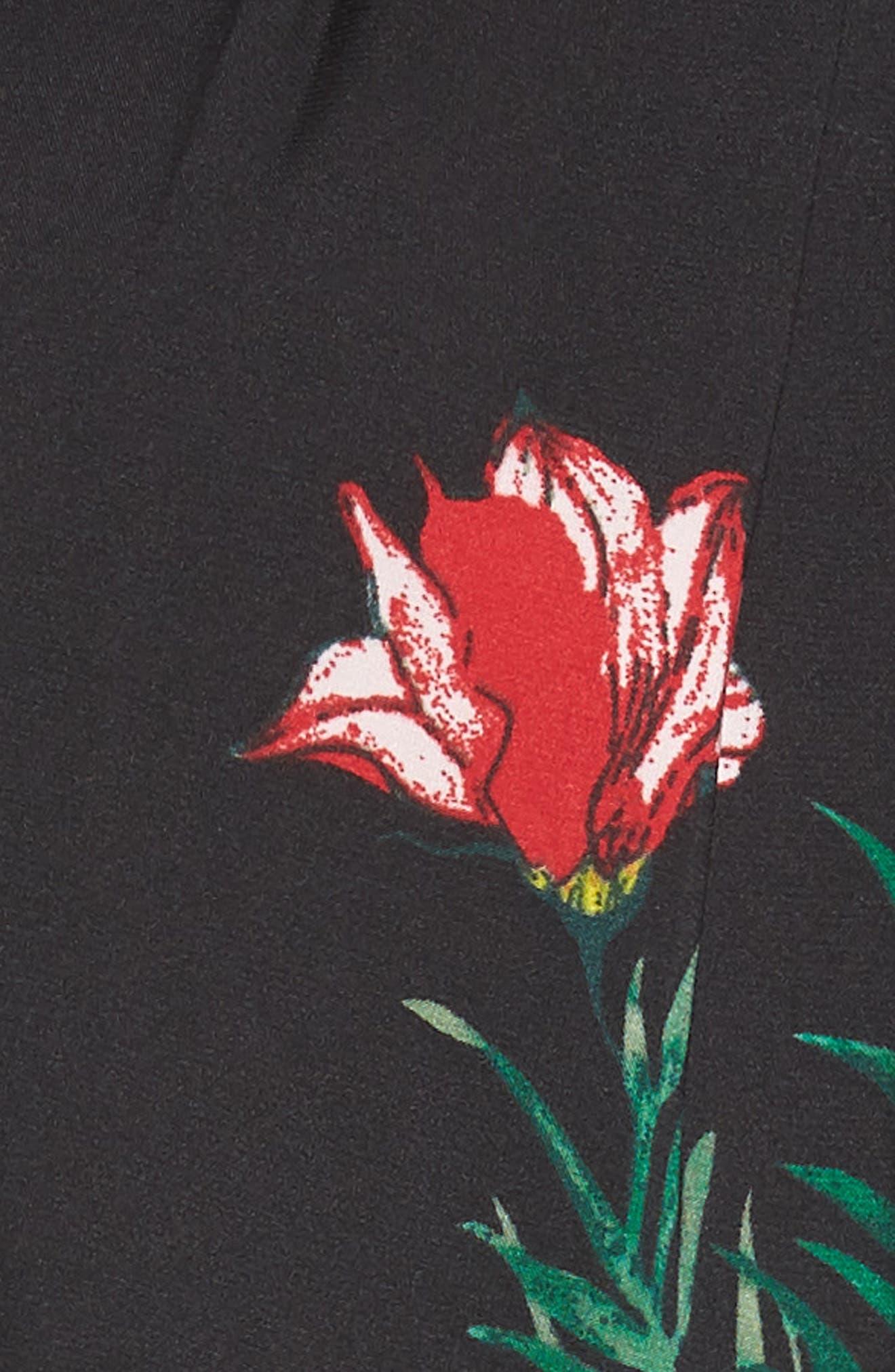 Tropical Garden Jumpsuit,                             Alternate thumbnail 5, color,                             001