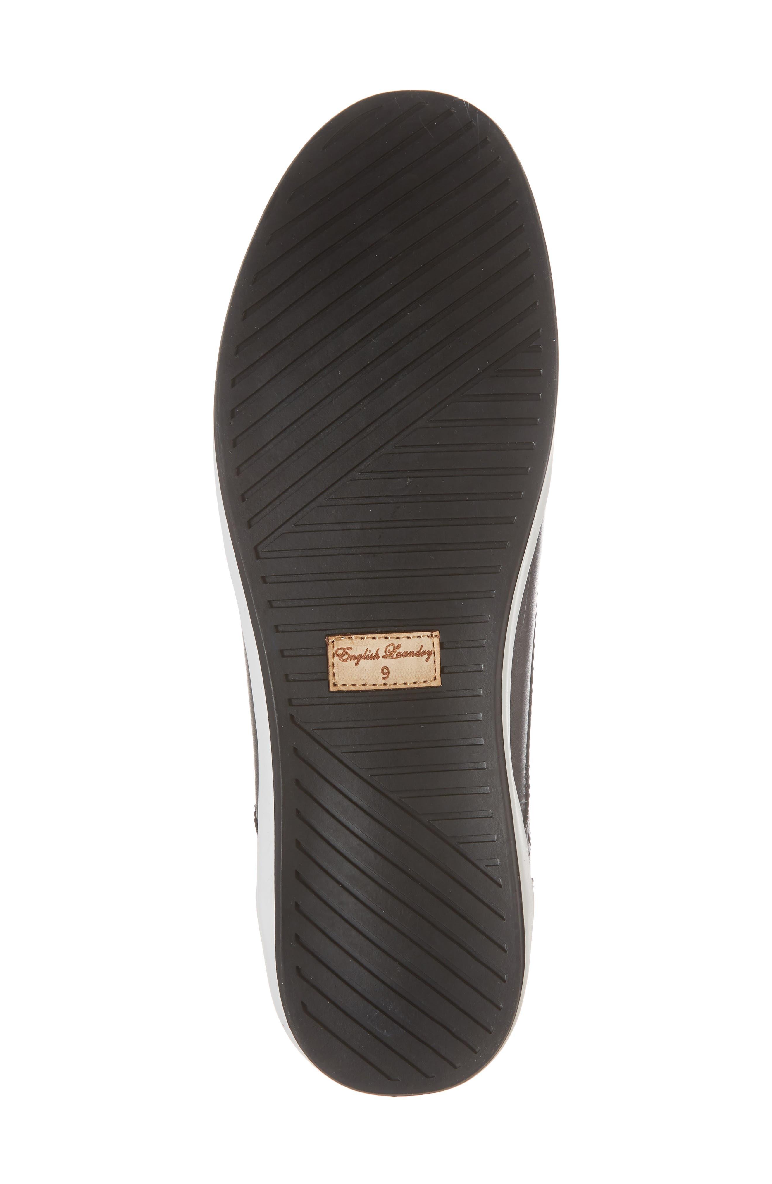 Dunnet Cap Toe Sneaker,                             Alternate thumbnail 6, color,                             001