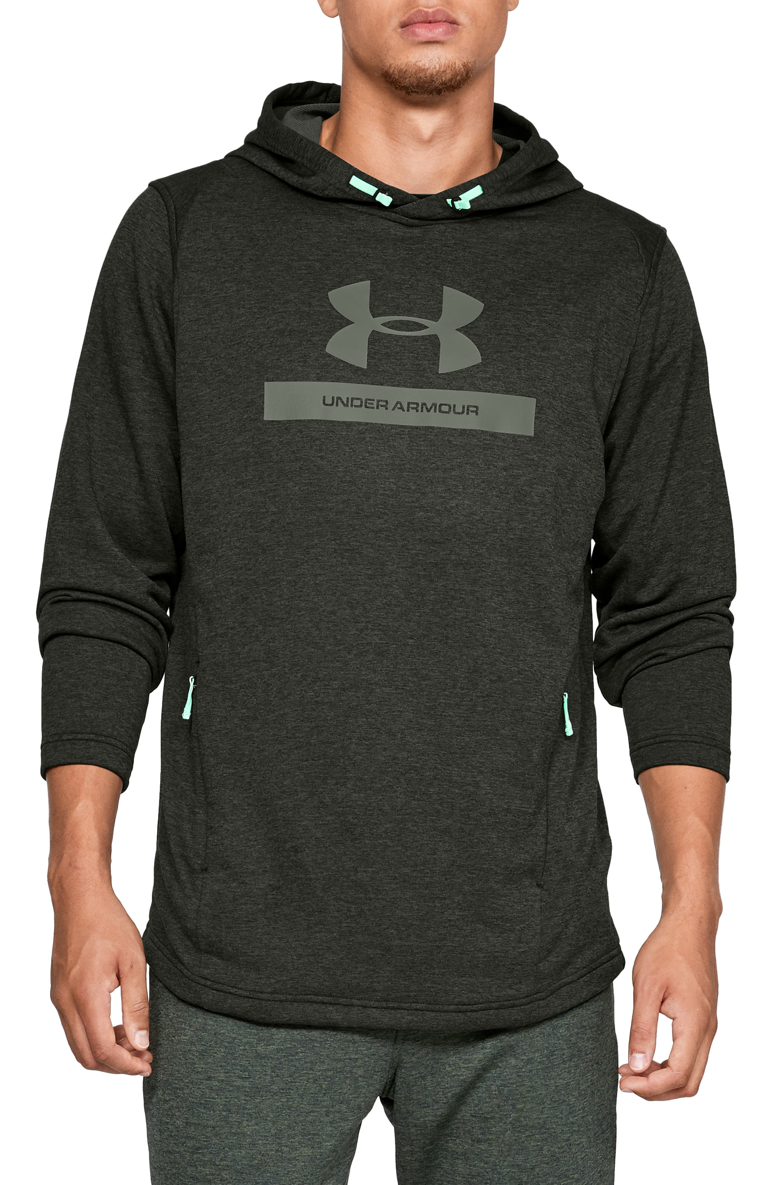 Under Armour Mk1 French Terry Hoodie, Green